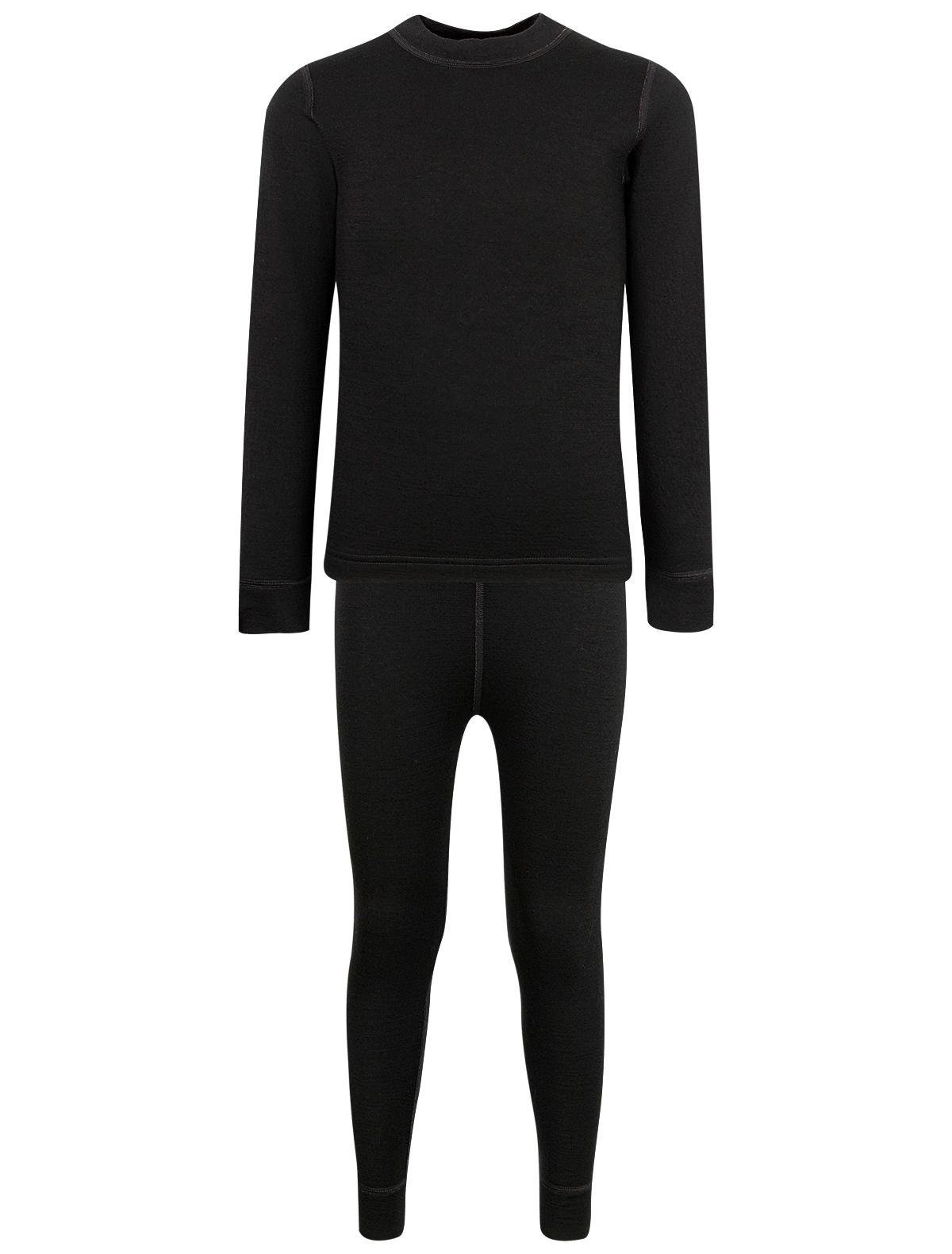Купить 2135976, Термобелье Air wool, черный, Мужской, 1721119980166