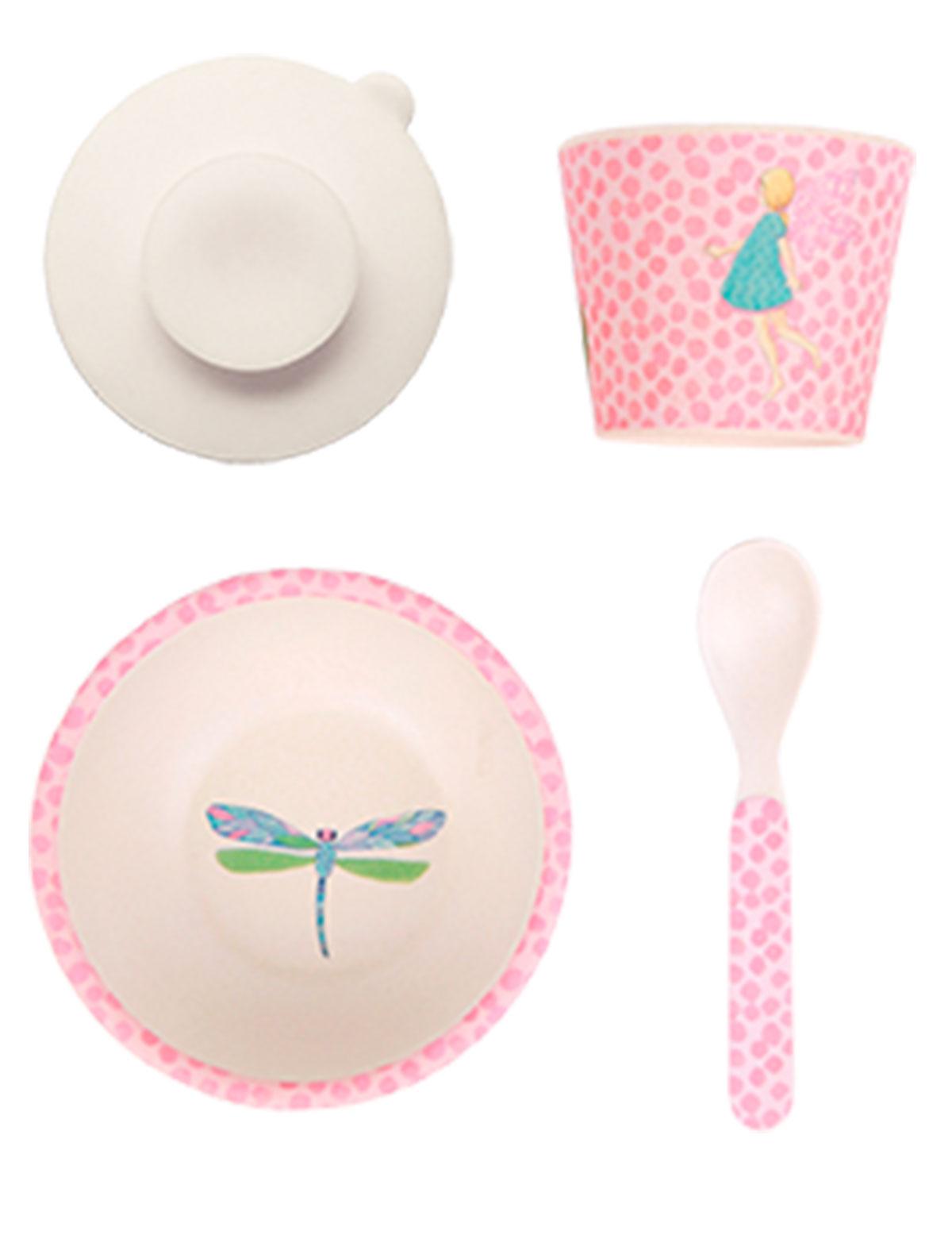 Купить 2264382, Набор посуды Love Mae, розовый, 2294520080217