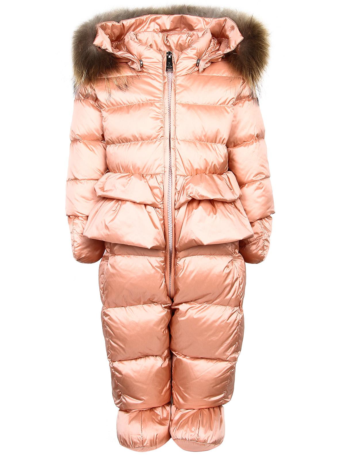 Купить 1911668, Комбинезон утепленный ADD, розовый, Женский, 1592609780067