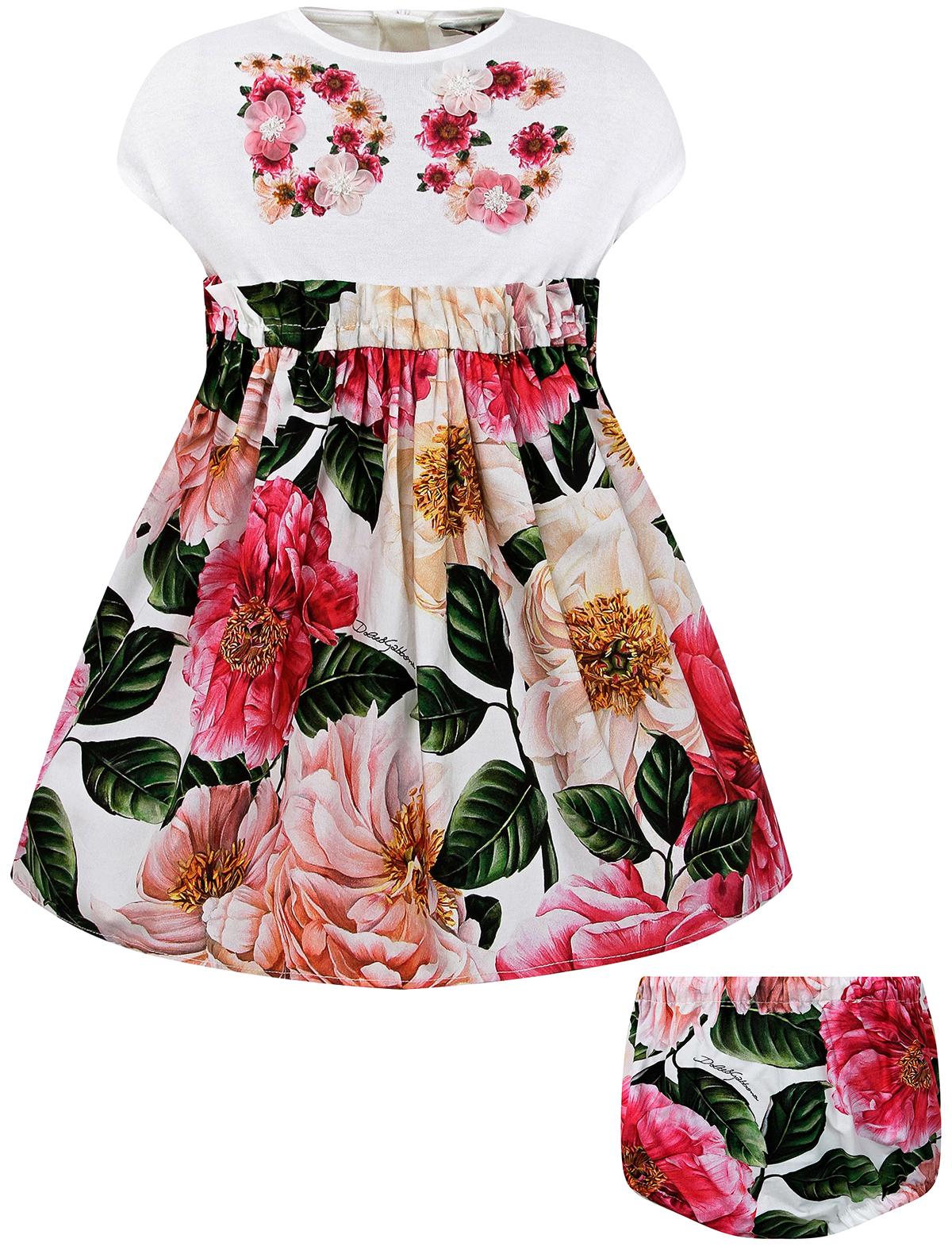 Купить 2296176, Платье Dolce & Gabbana, розовый, Женский, 1054609170168