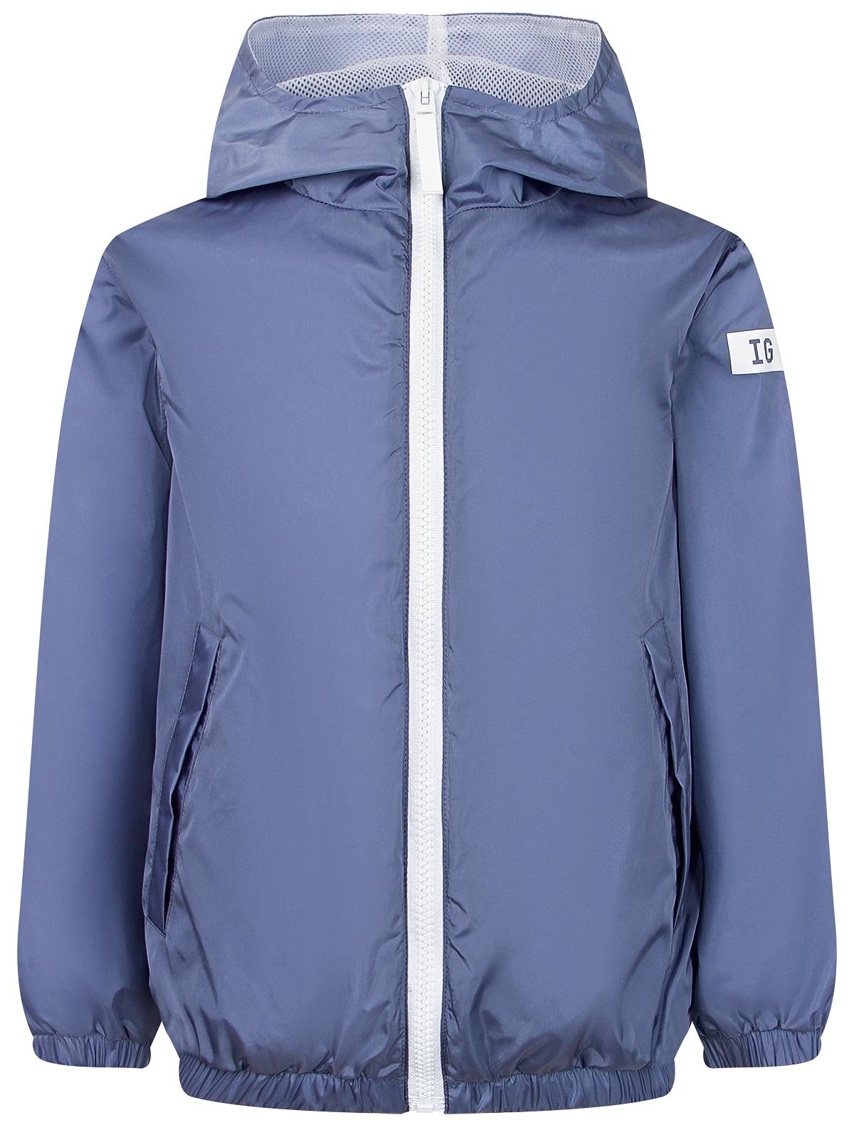 Купить 2281274, Куртка Il Gufo, голубой, Мужской, 1074519170171