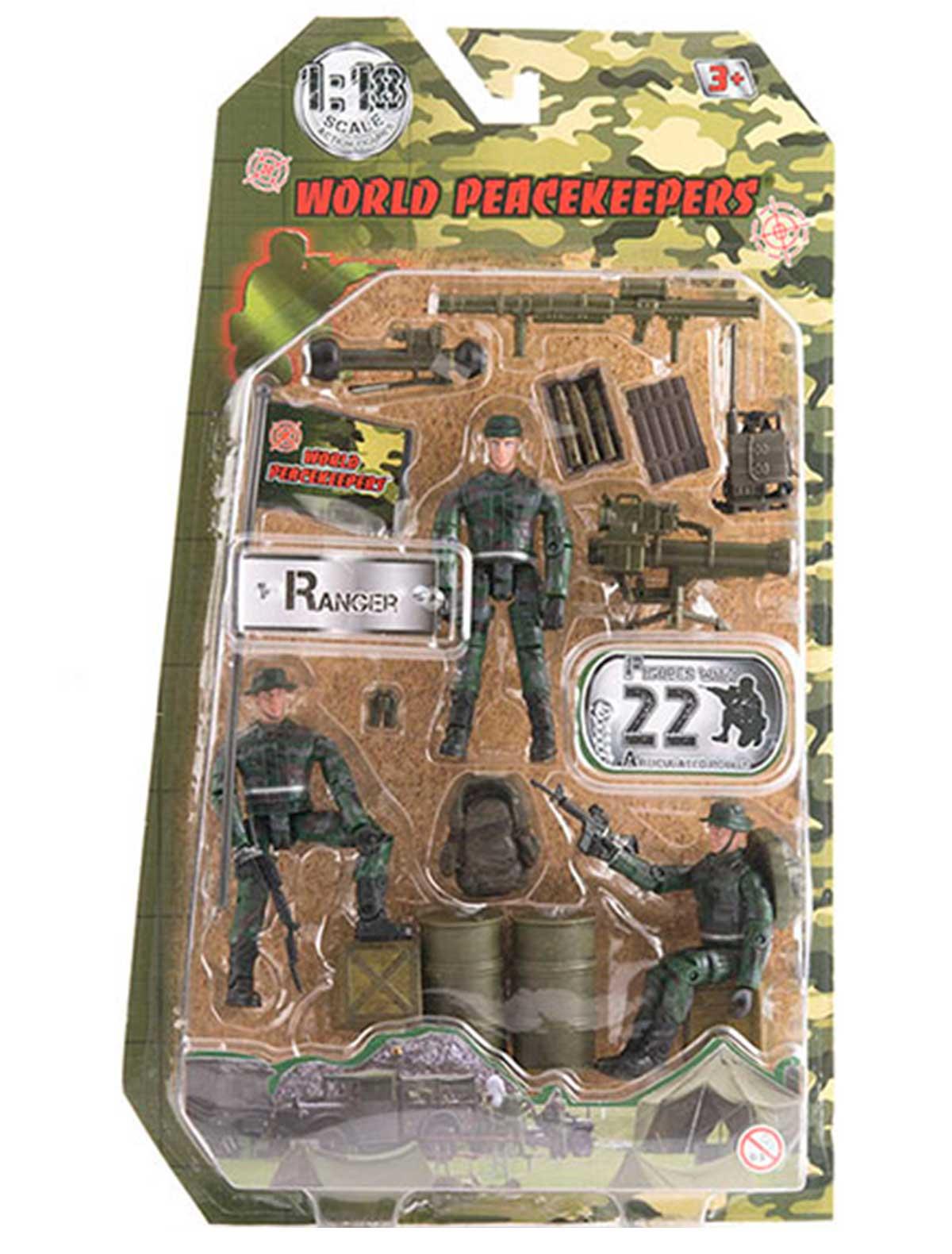 2267859, Игрушка World Peacekeepers, разноцветный, 7134529083008  - купить со скидкой