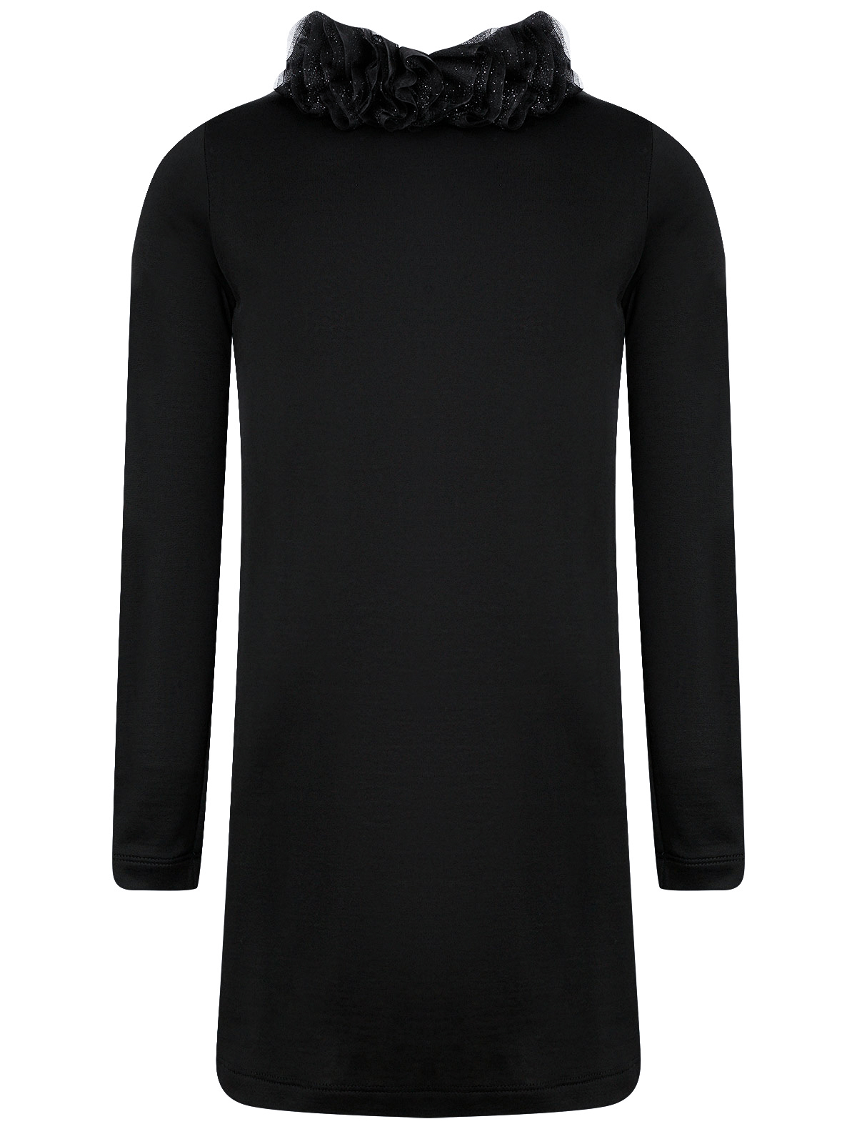 Платье Balmain черного цвета