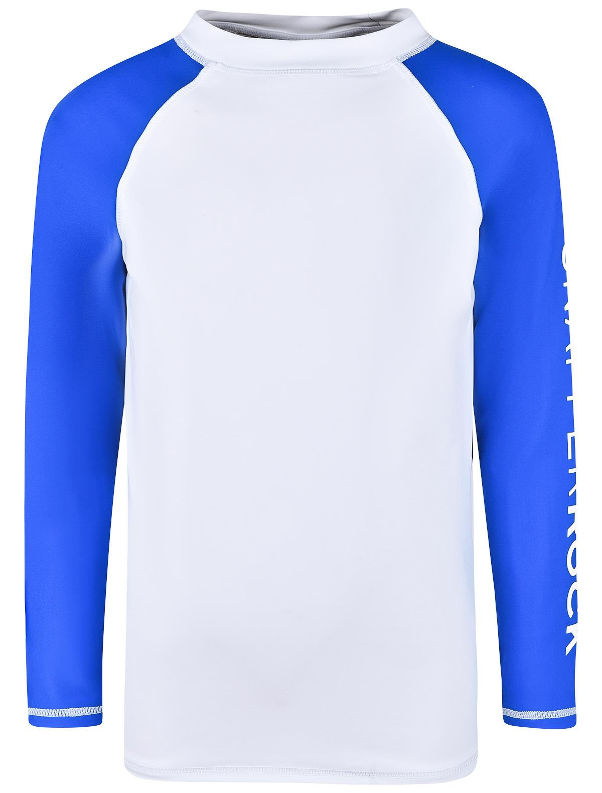 Футболка солнцезащитная SNAPPER ROCK белого цвета