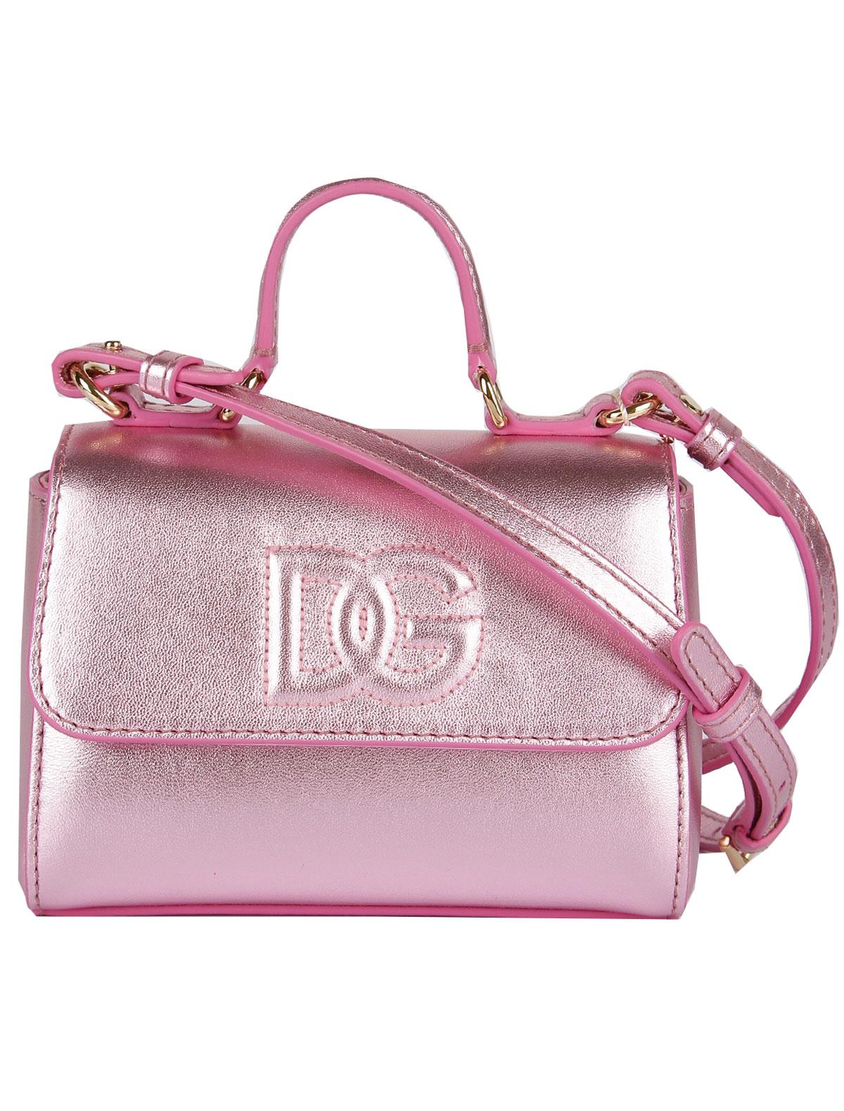 Сумка Dolce & Gabbana розового цвета