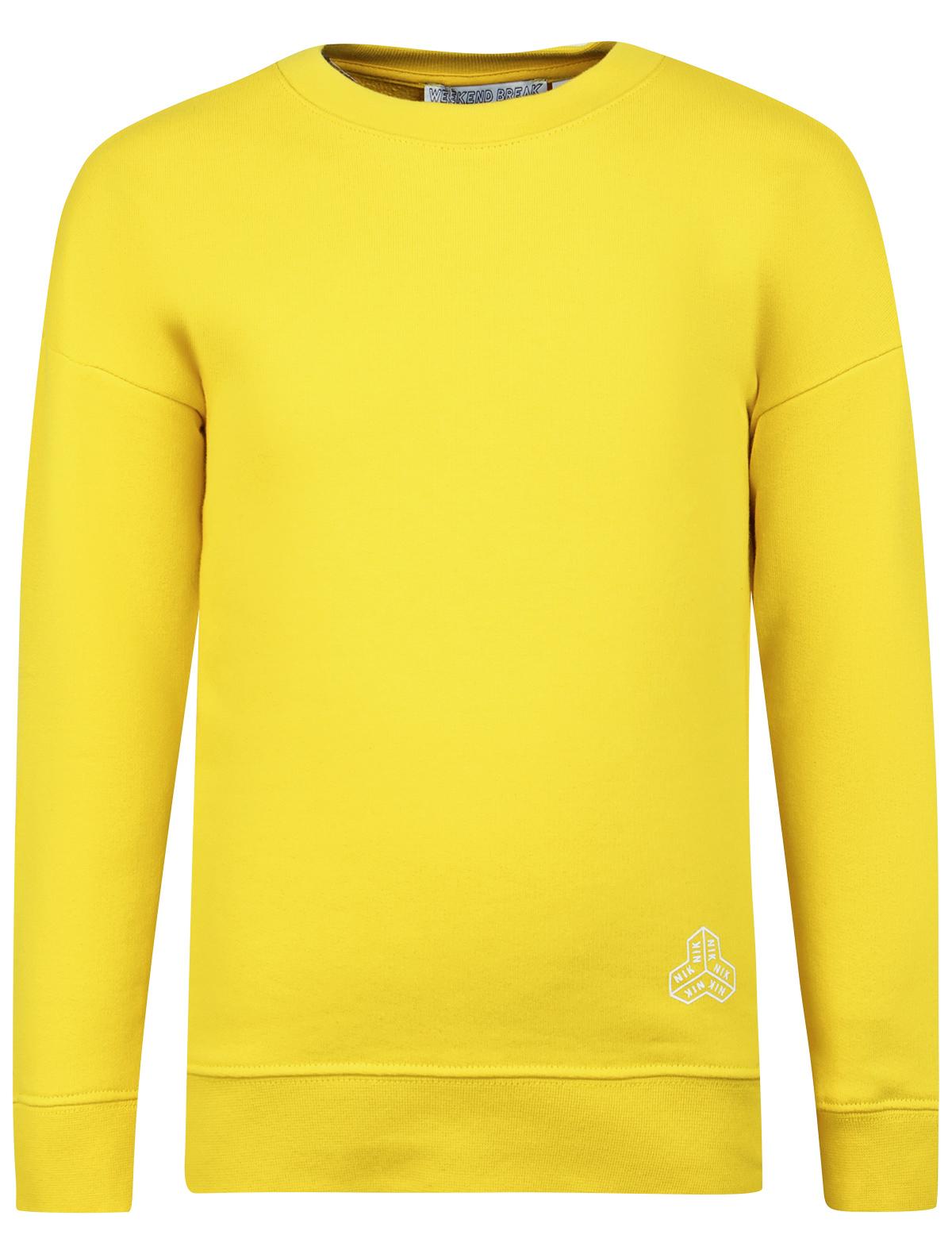 Купить 1988831, Свитшот NIK & NIK, желтый, Мужской, 0082819970033