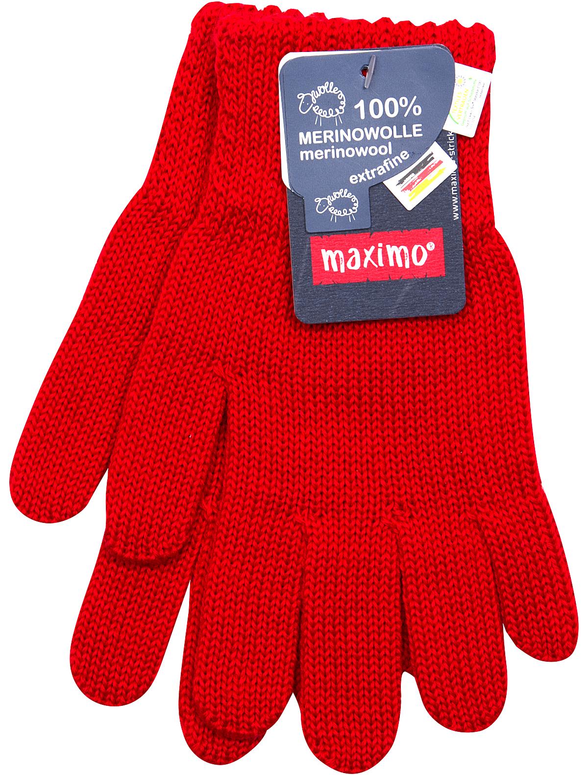 Купить 1891341, Перчатки Maximo, красный, 1191329780663