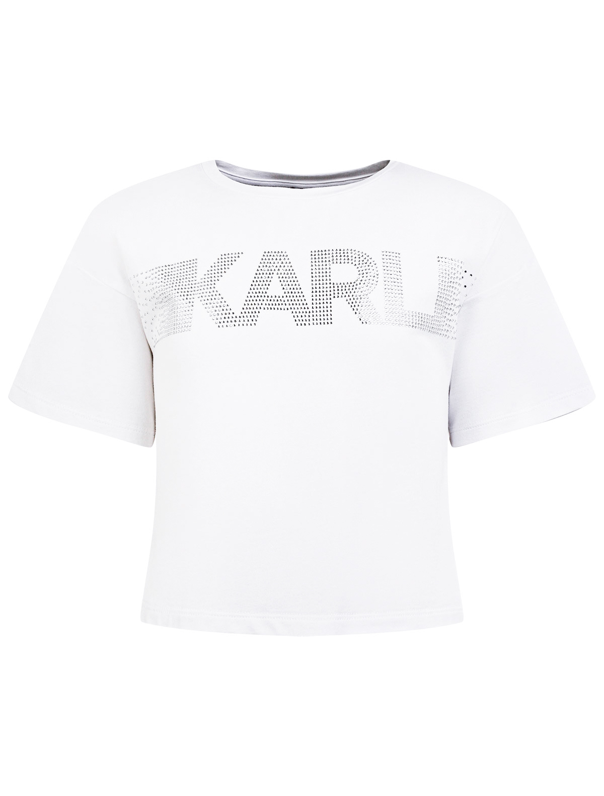Купить 2310927, Футболка KARL LAGERFELD, белый, Женский, 1134609175278