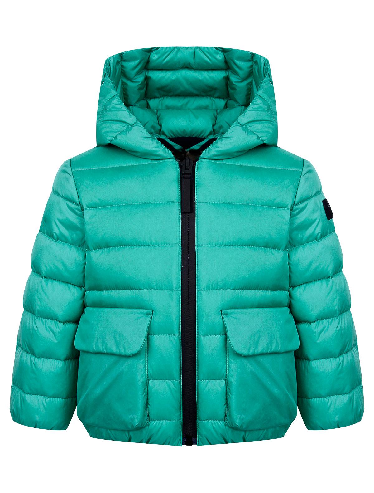 Купить 2171276, Куртка Il Gufo, зеленый, Мужской, 1074519071355