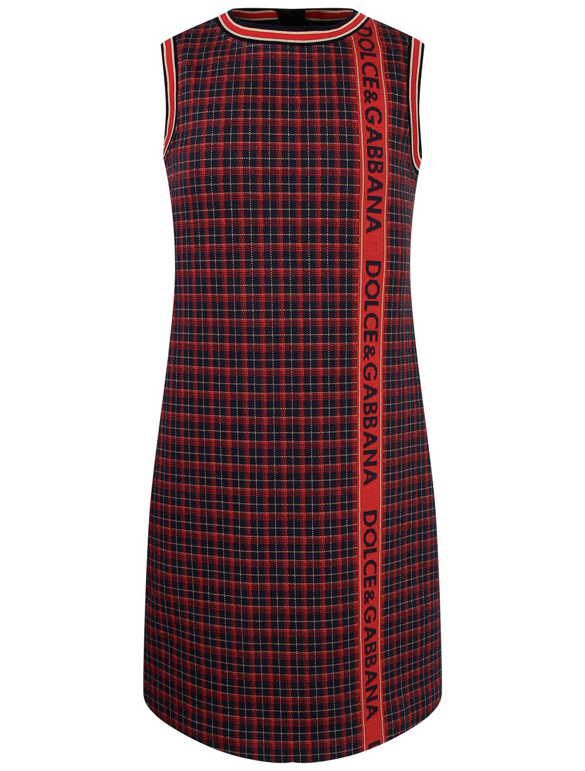 Купить 2264106, Платье Dolce & Gabbana, красный, Женский, 1054609087893
