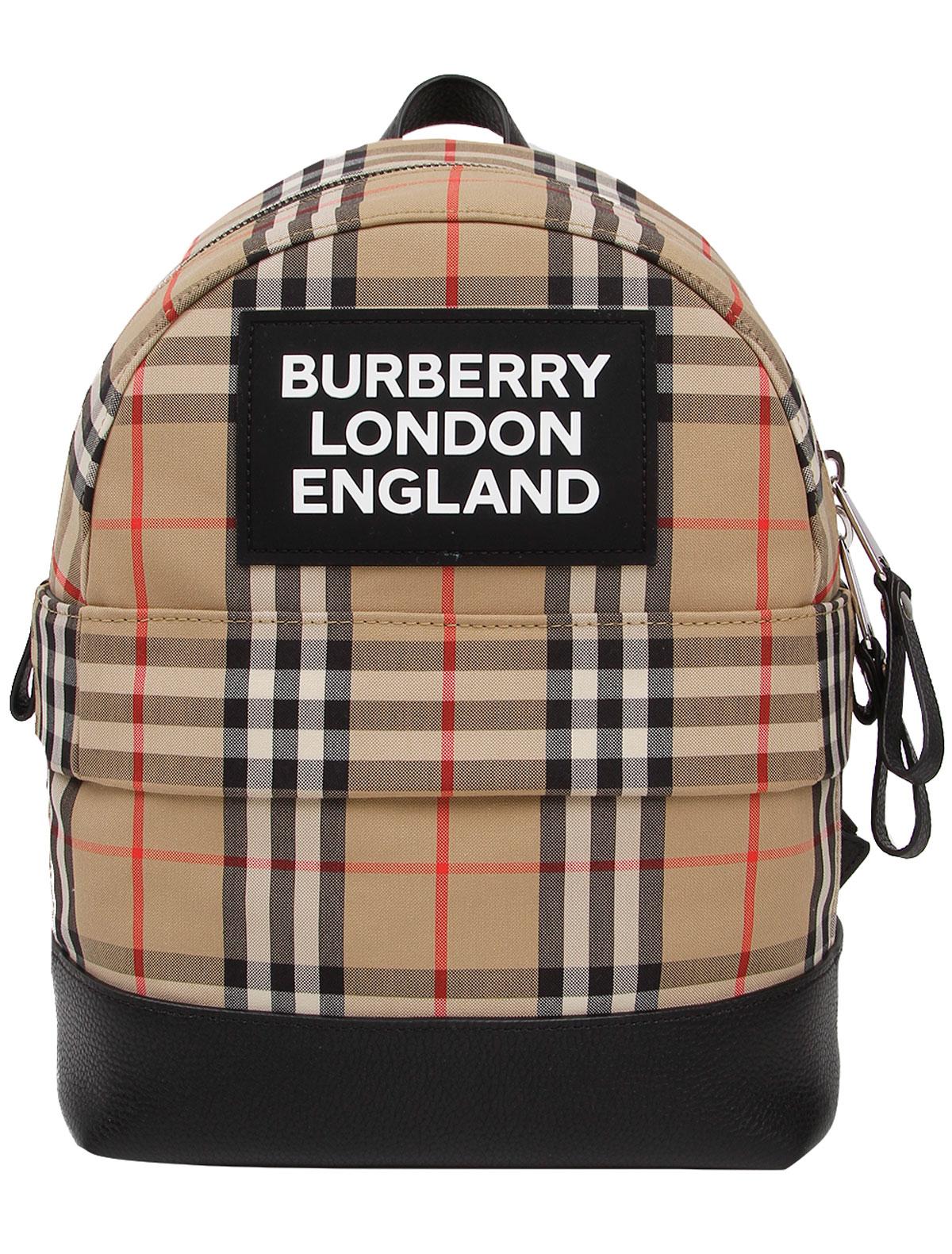 Рюкзак Burberry 2310521 бежевого цвета