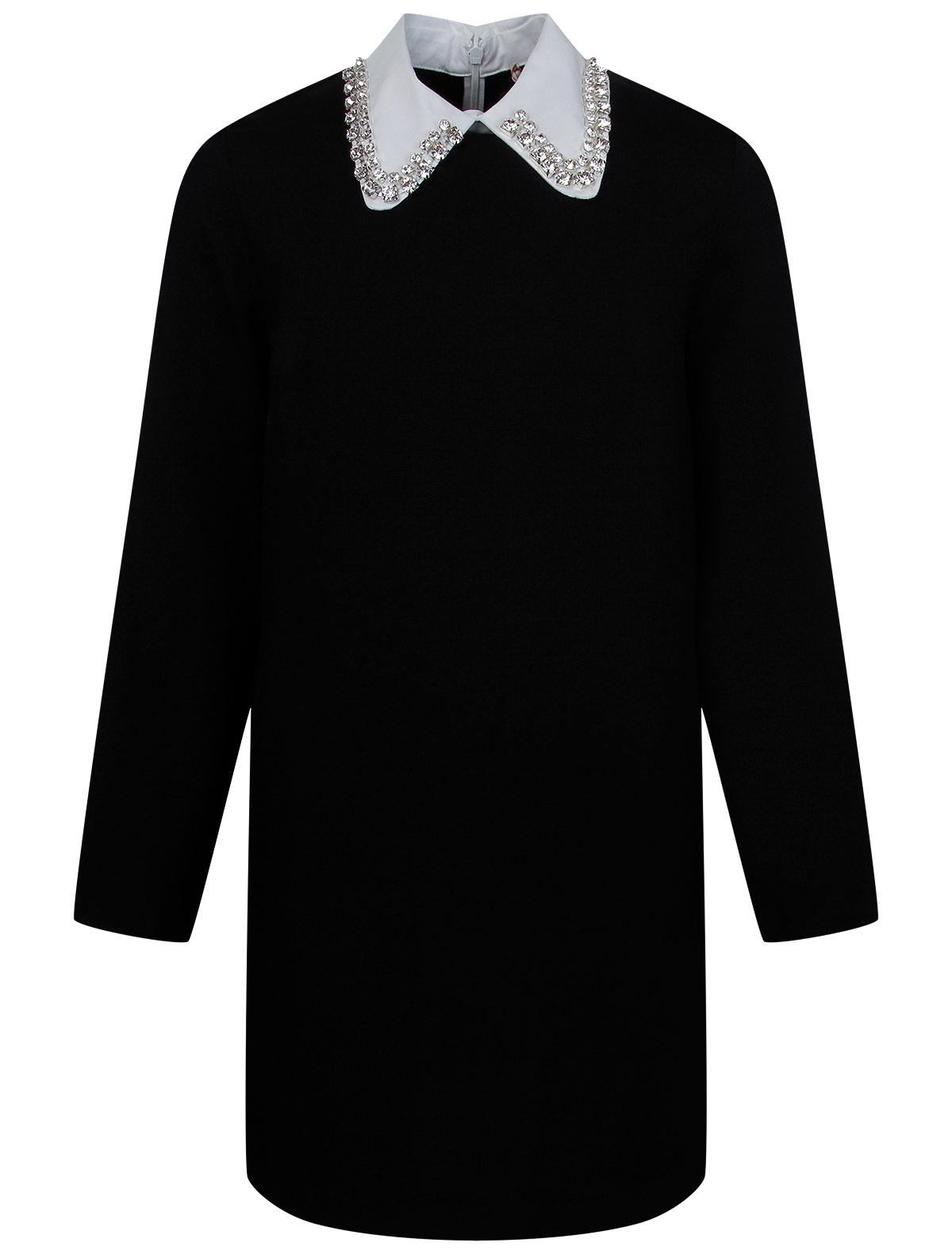 Купить 2247634, Платье №21 kids, черный, Женский, 1054609083512