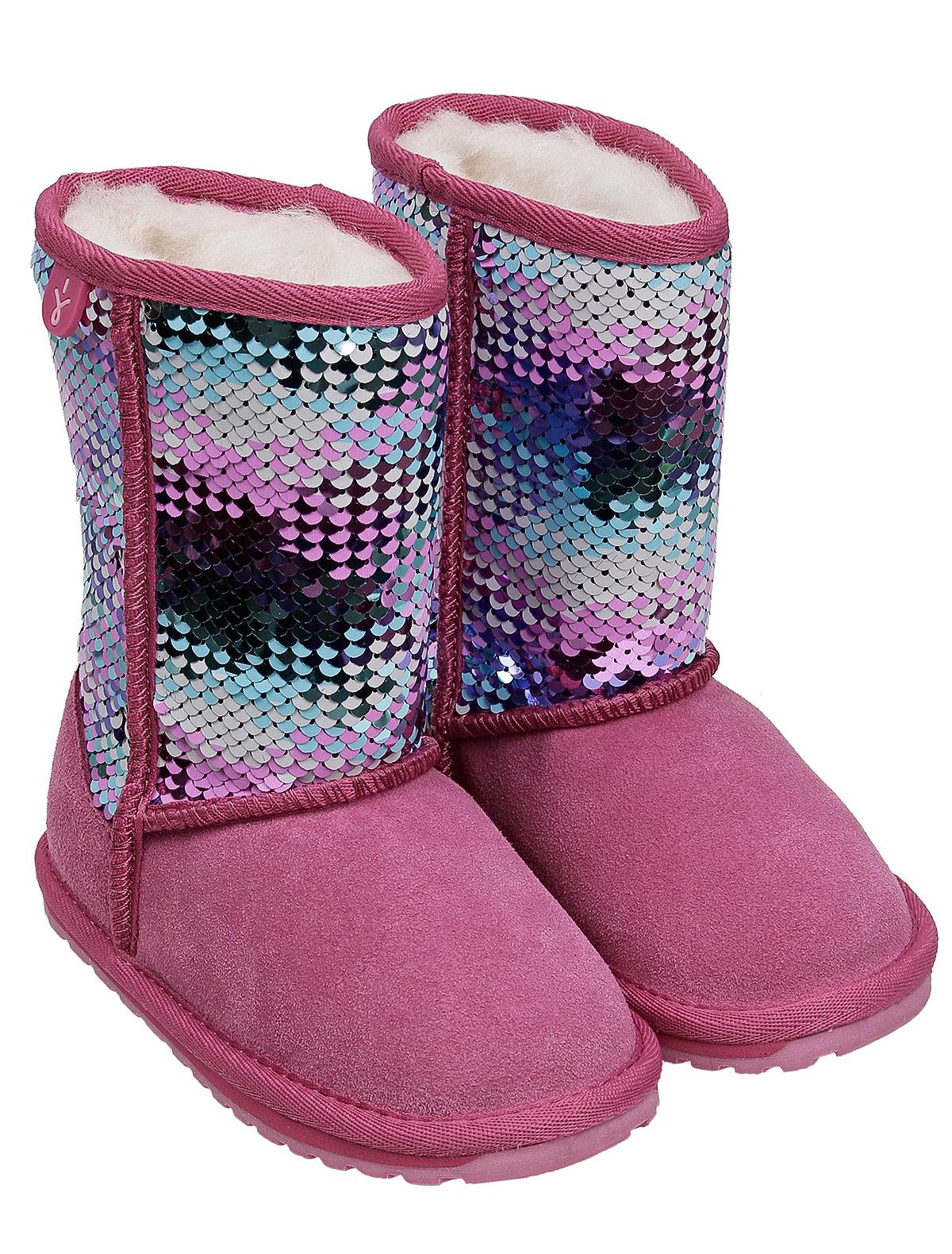 Купить 2255620, Сапоги Emu Australia, розовый, Женский, 2024509081948
