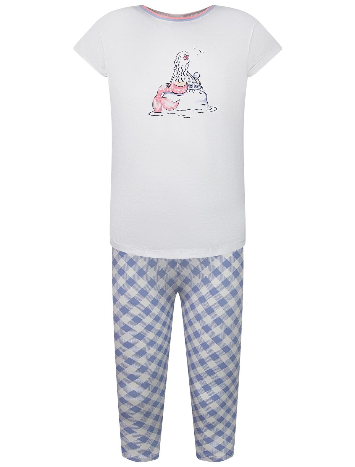 Пижама Sanetta белого цвета