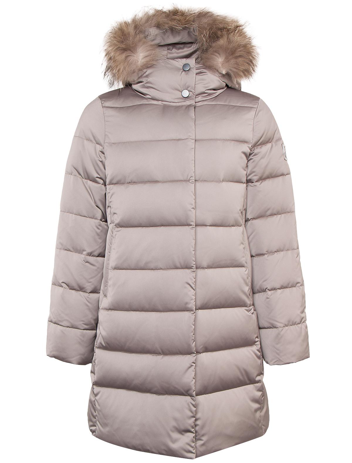 Купить 1879931, Пальто Jums Kids, серый, Женский, 1121709780112