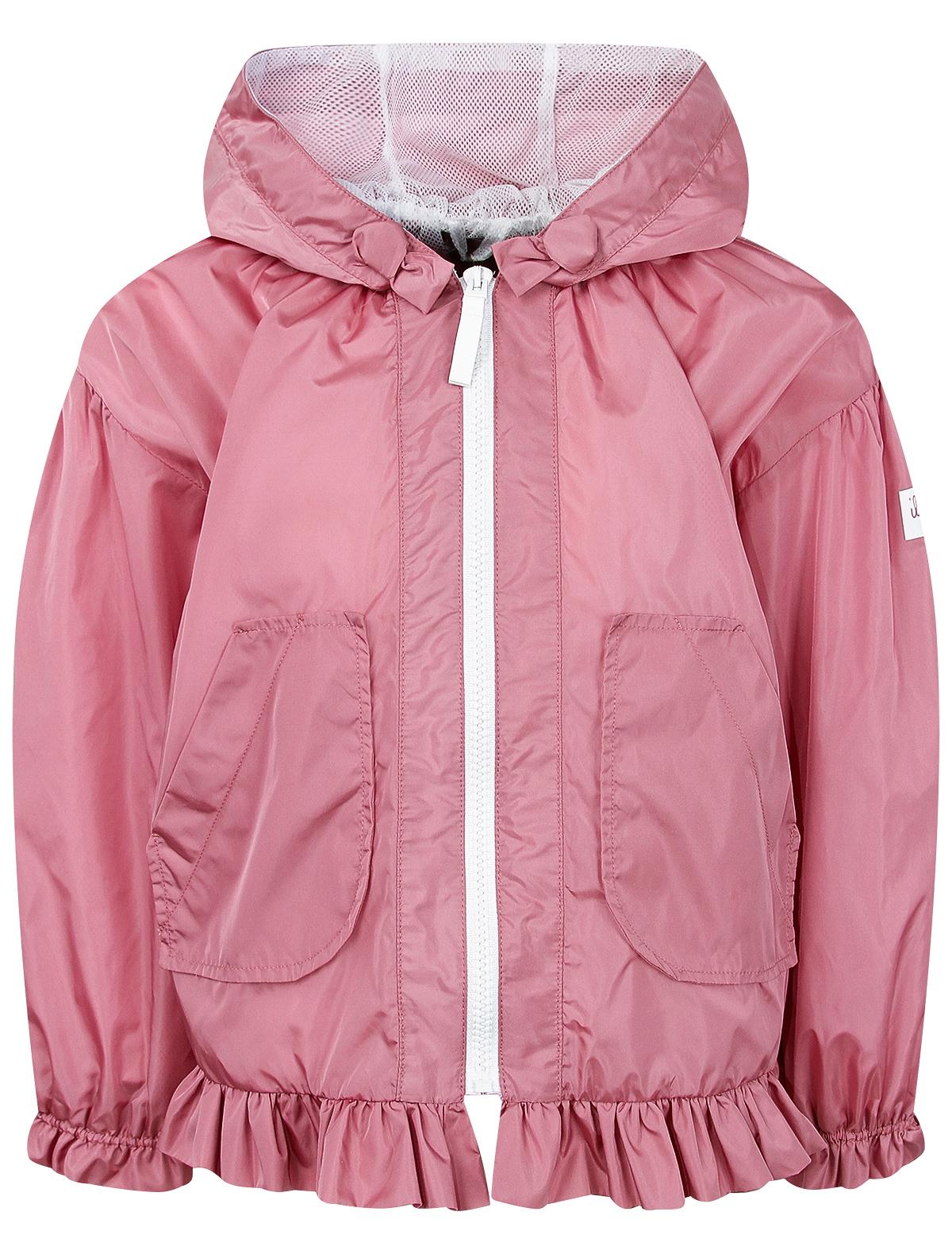 Куртка Il Gufo розового цвета