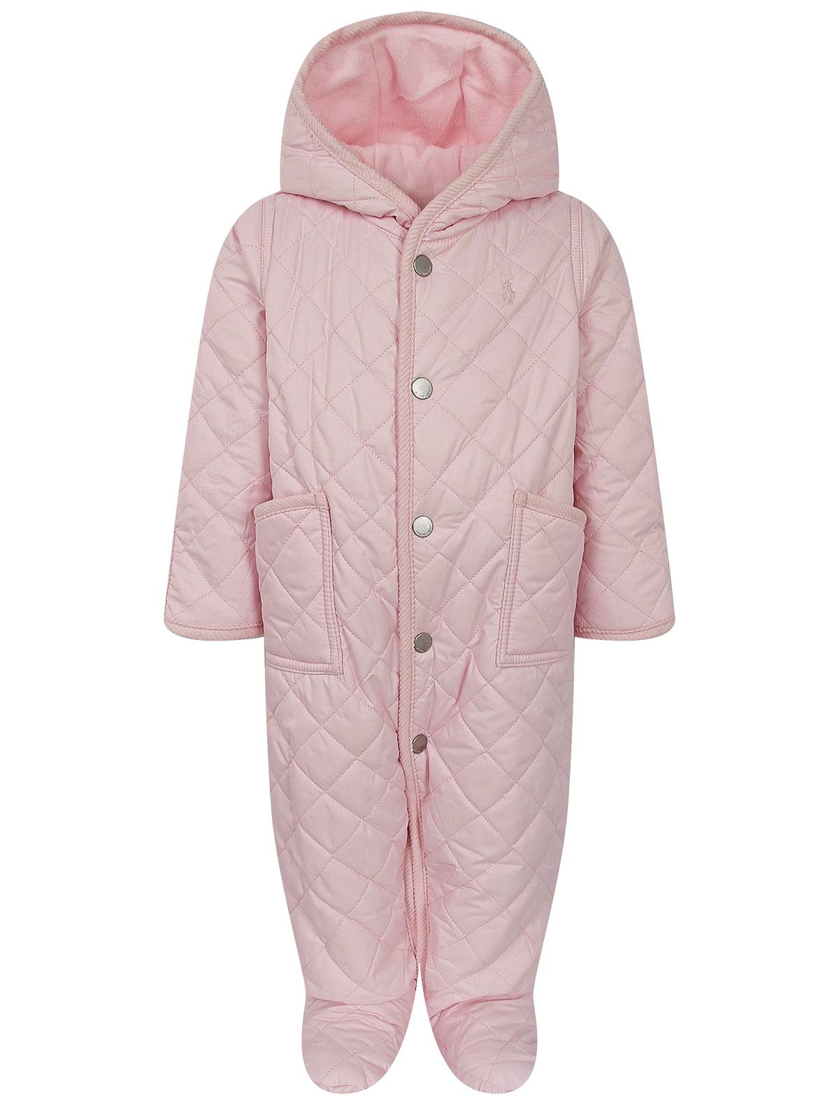 Купить 2263502, Комбинезон утепленный Ralph Lauren, розовый, Женский, 1594509081039