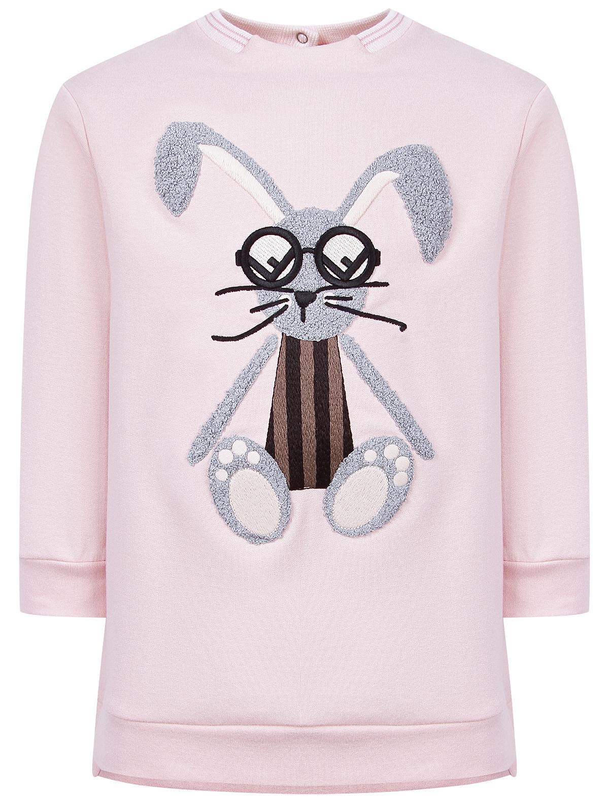 2039926, Платье Fendi, розовый, Женский, 1052609980220  - купить со скидкой