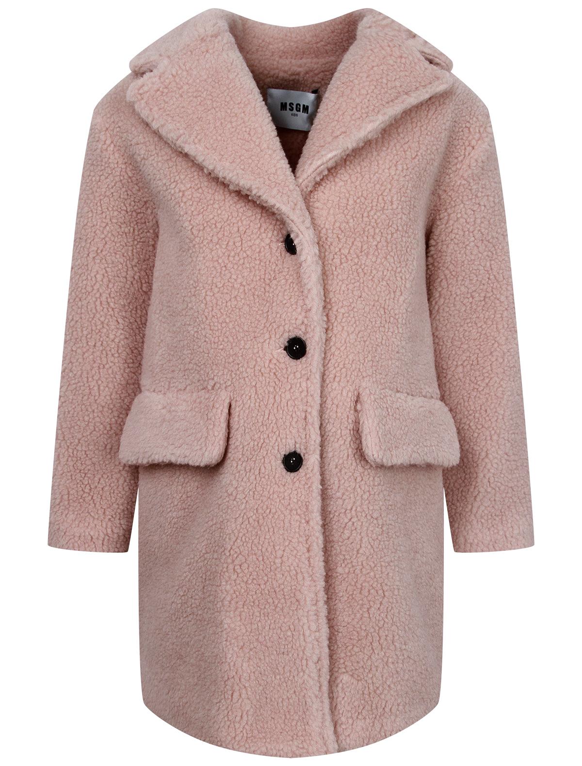Купить 2243922, Пальто MSGM, розовый, Женский, 1124509082349