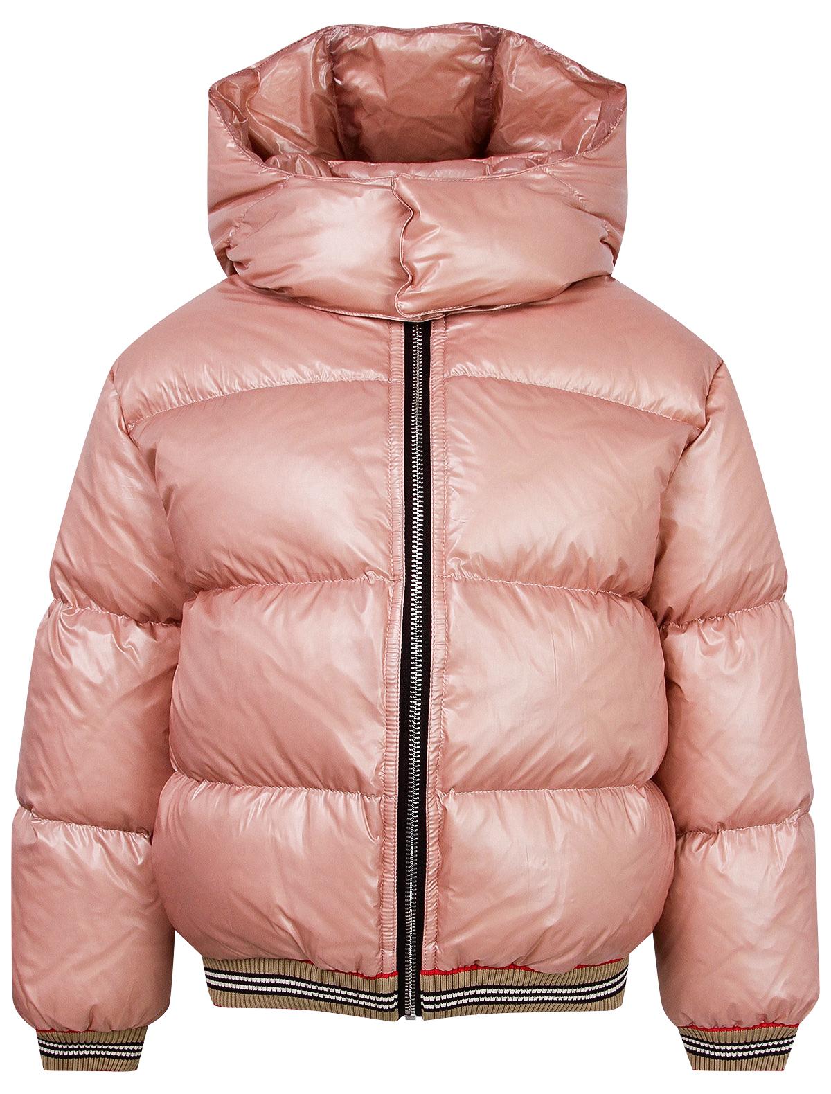 Купить 2140126, Куртка Burberry, розовый, Женский, 1072609980280