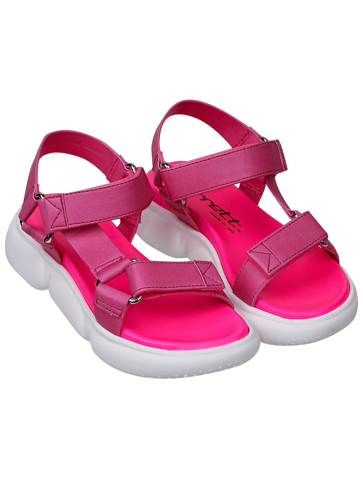 Сандалии JARRETT розового цвета