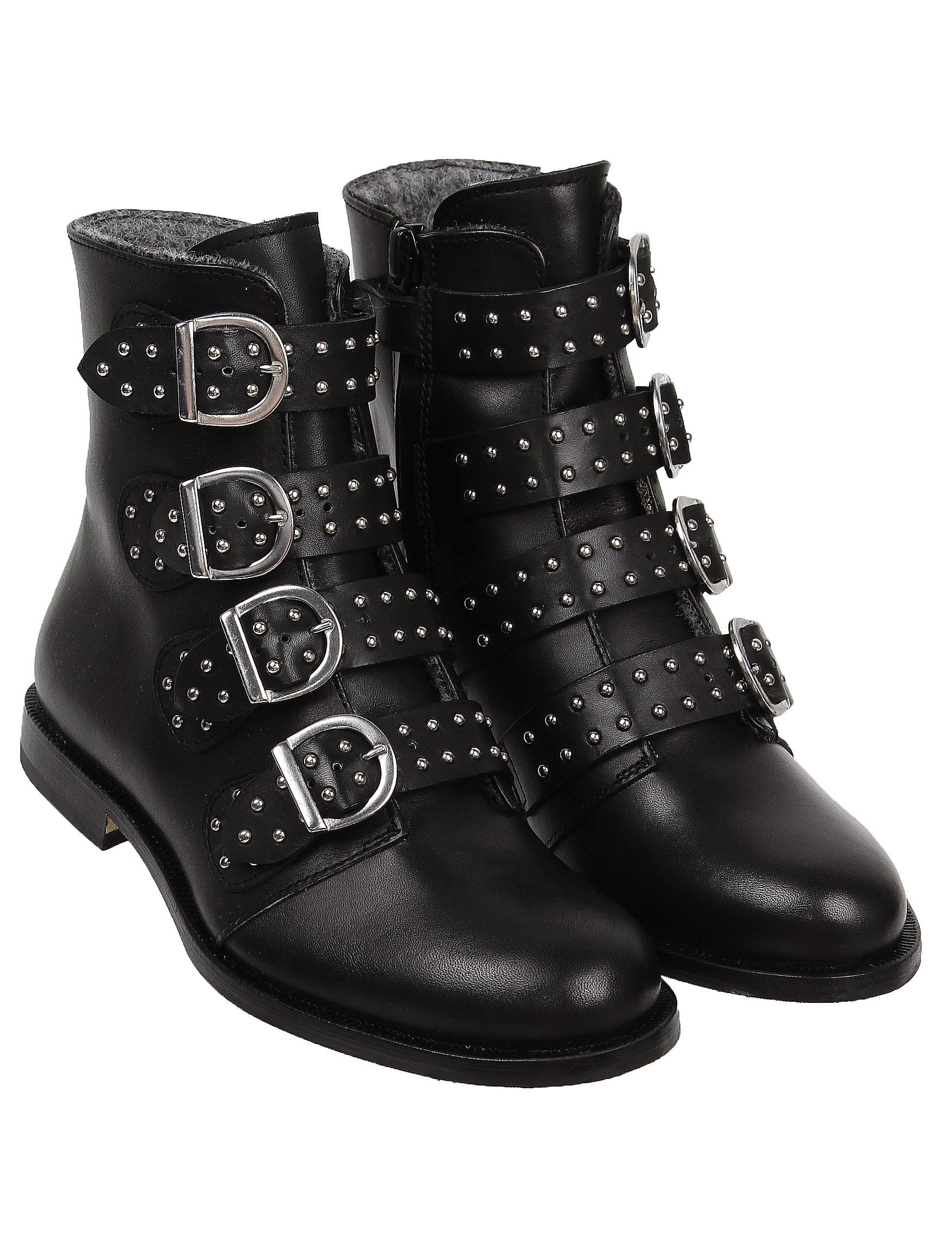 Купить 2236981, Ботинки GALLUCCI, черный, Женский, 2034509080780