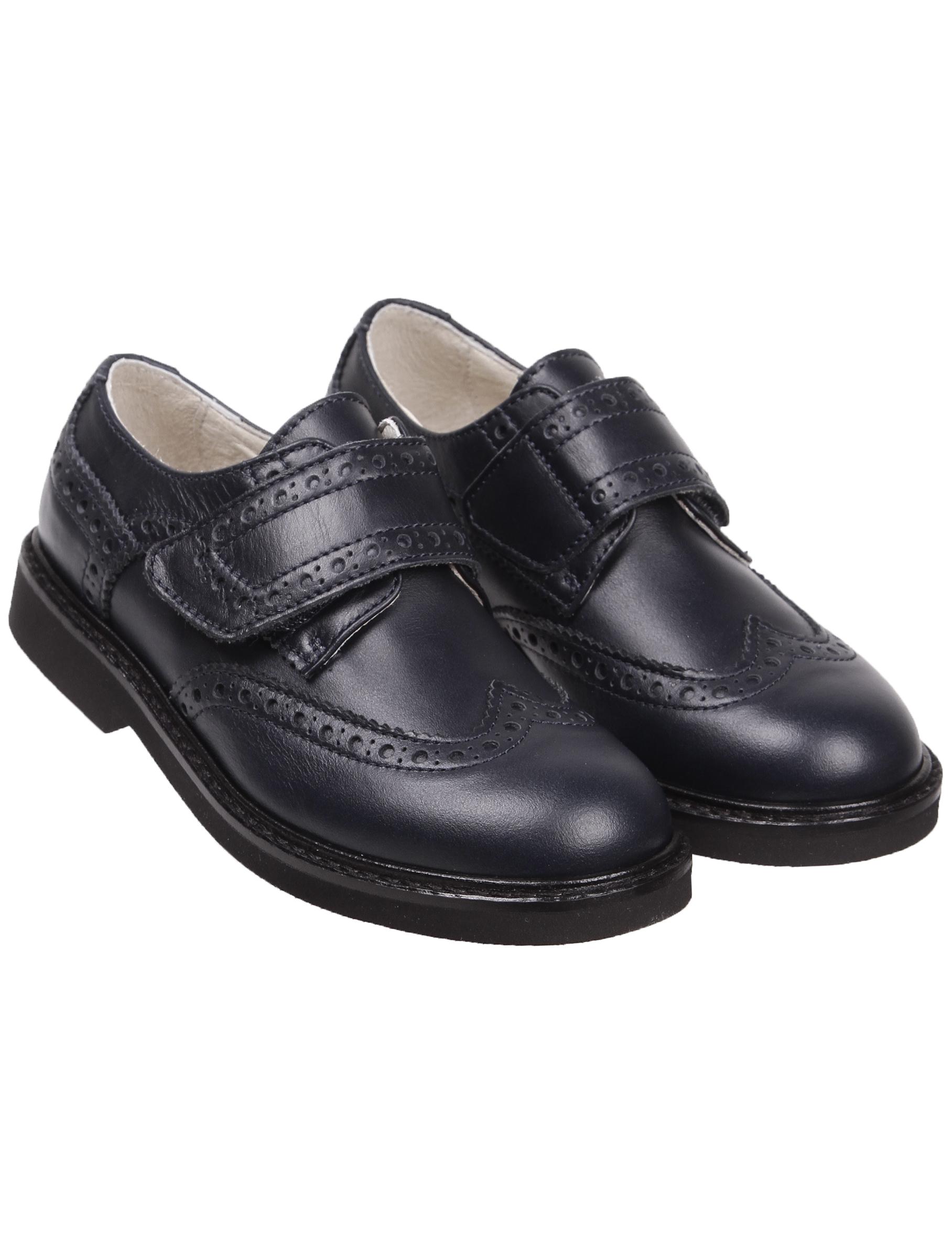 Купить 2041408, Туфли Andrea Montelpare, синий, Мужской, 2011419980034