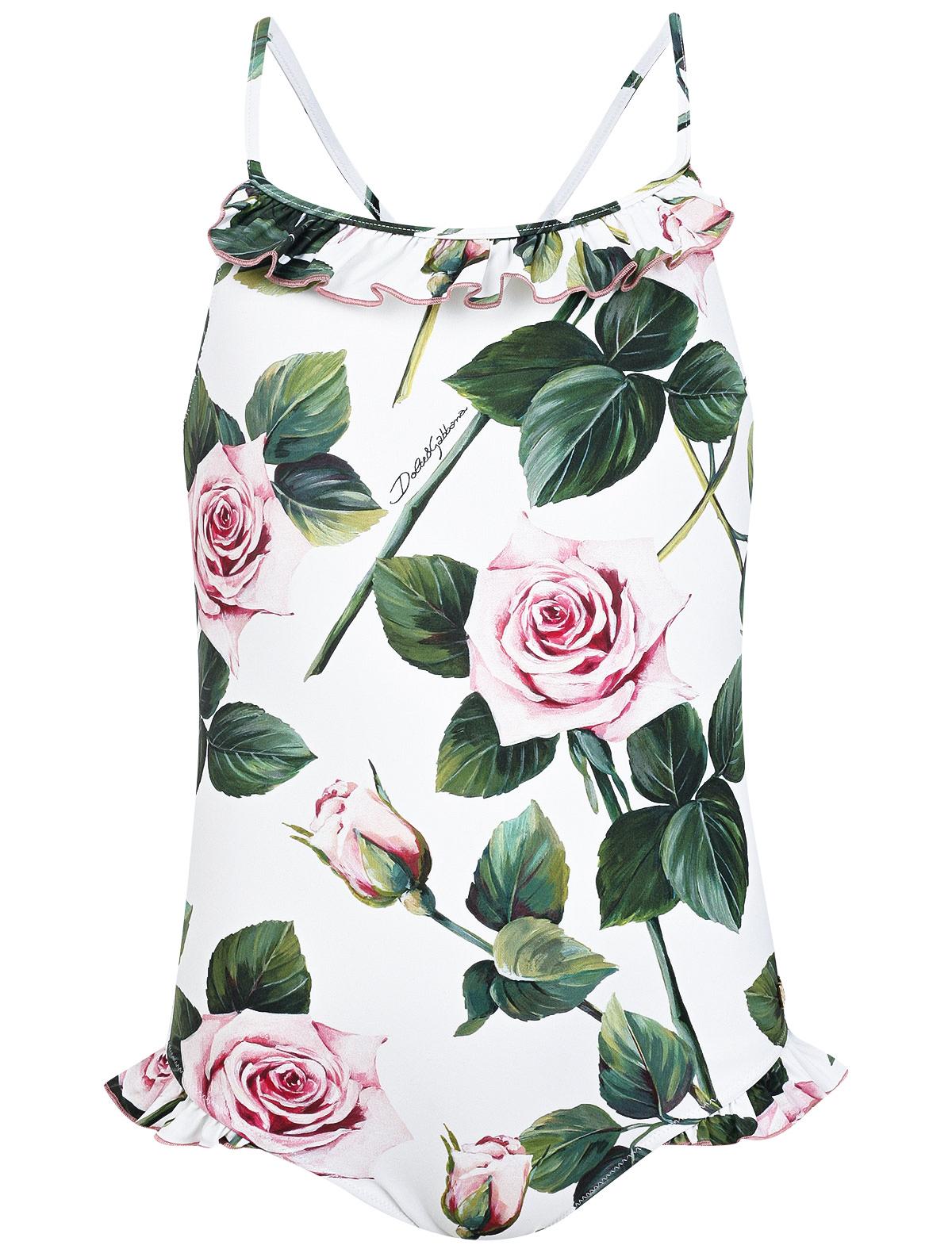 Купить 2150947, Купальник Dolce & Gabbana, белый, Женский, 0881209070090