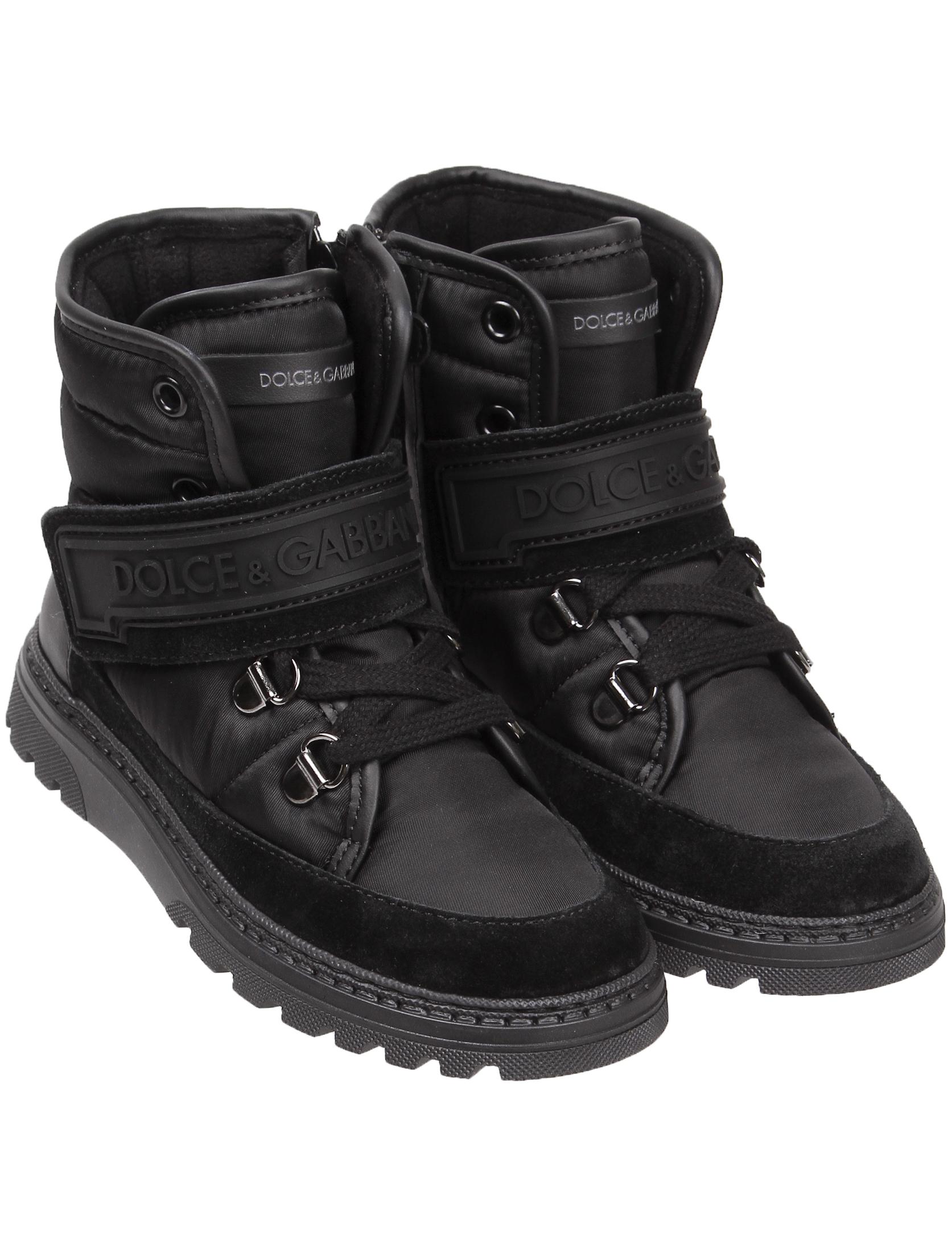 Купить 2044591, Ботинки Dolce & Gabbana, черный, Мужской, 2031119980998