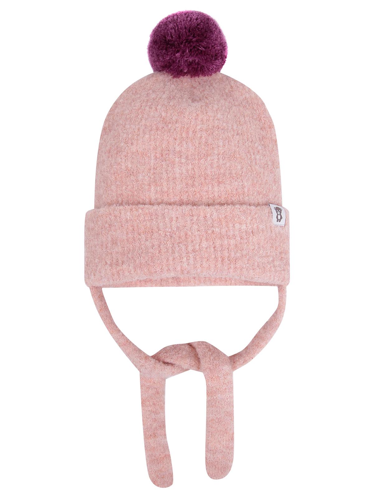 Купить 2249809, Шапка Air wool, розовый, 1354529081170