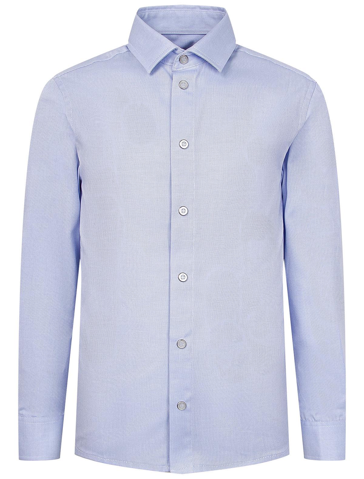 Купить 2219975, Рубашка SILVER SPOON, голубой, Мужской, 1014519080438