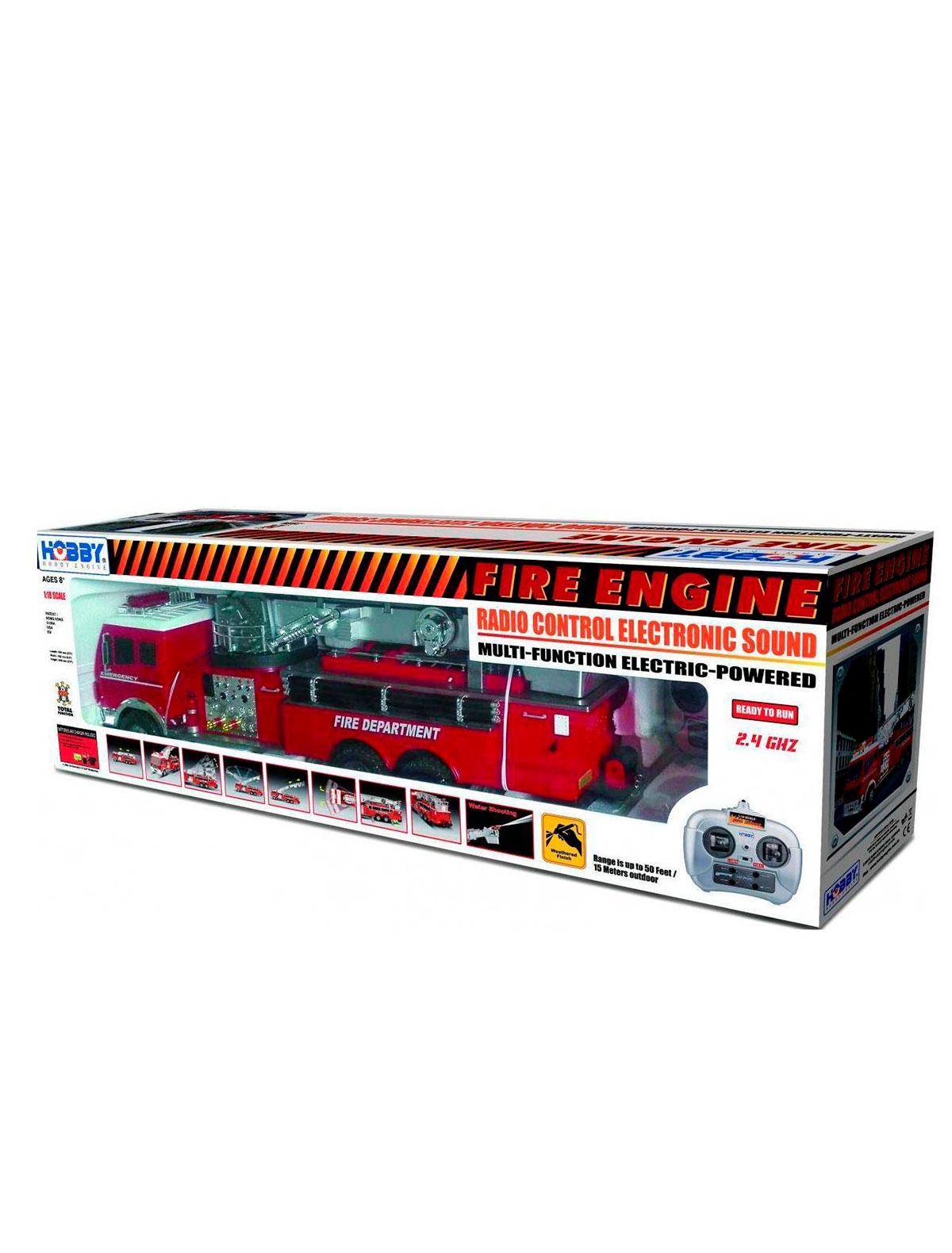 Купить 2350183, Игрушка Hobby engine, красный, 7134529180820