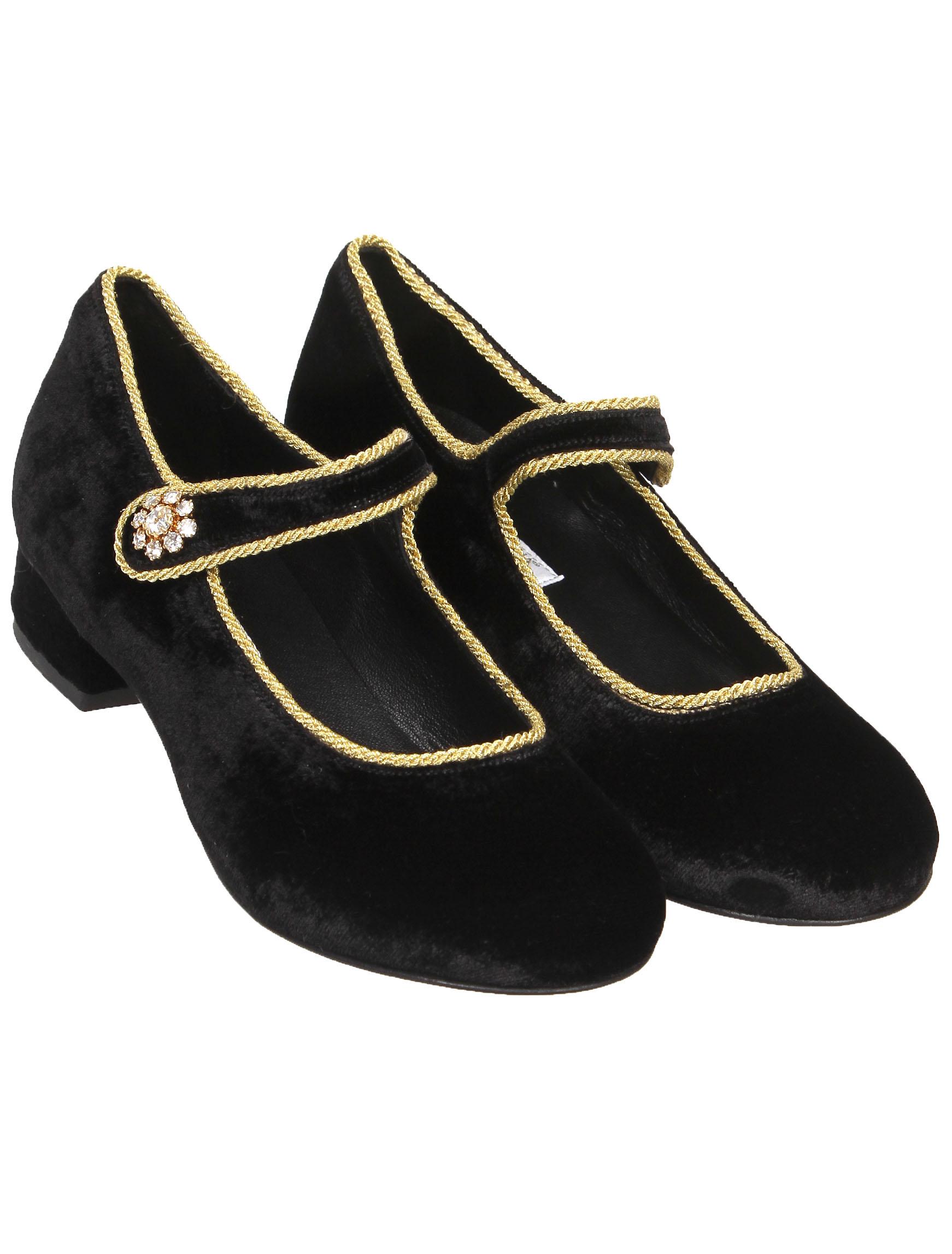 Купить 2140834, Туфли Dolce & Gabbana, черный, Женский, 2011109980368