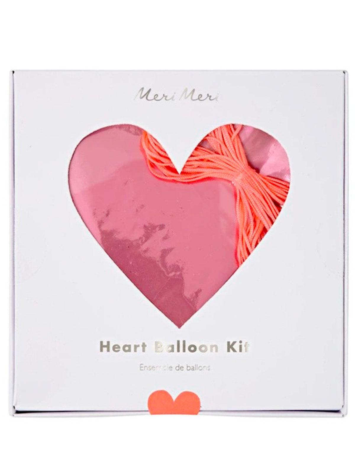 Купить 2221333, Воздушный шар Meri Meri, розовый, 6704520080064