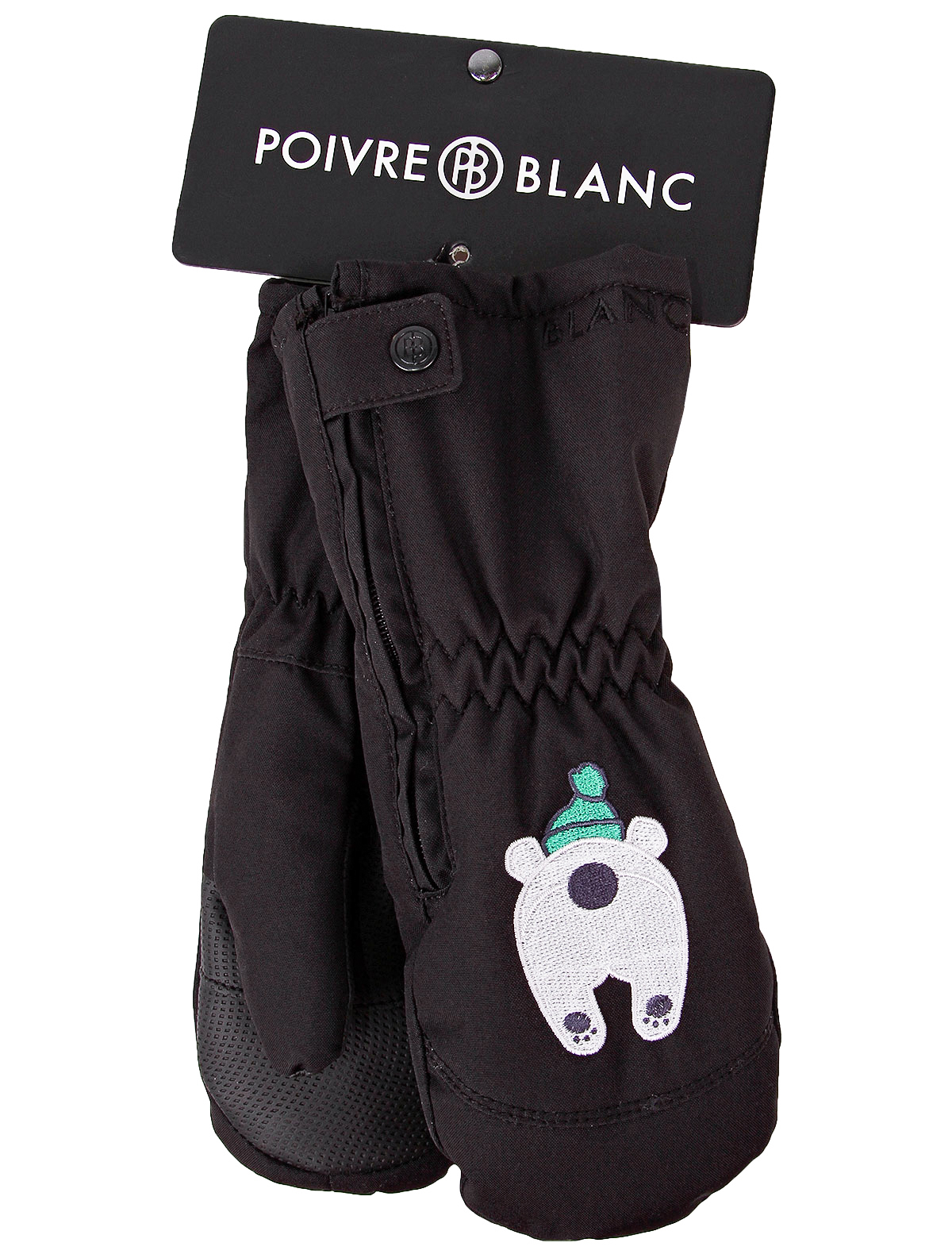 Купить 2136532, Варежки POIVRE BLANC, черный, Мужской, 1361119980010