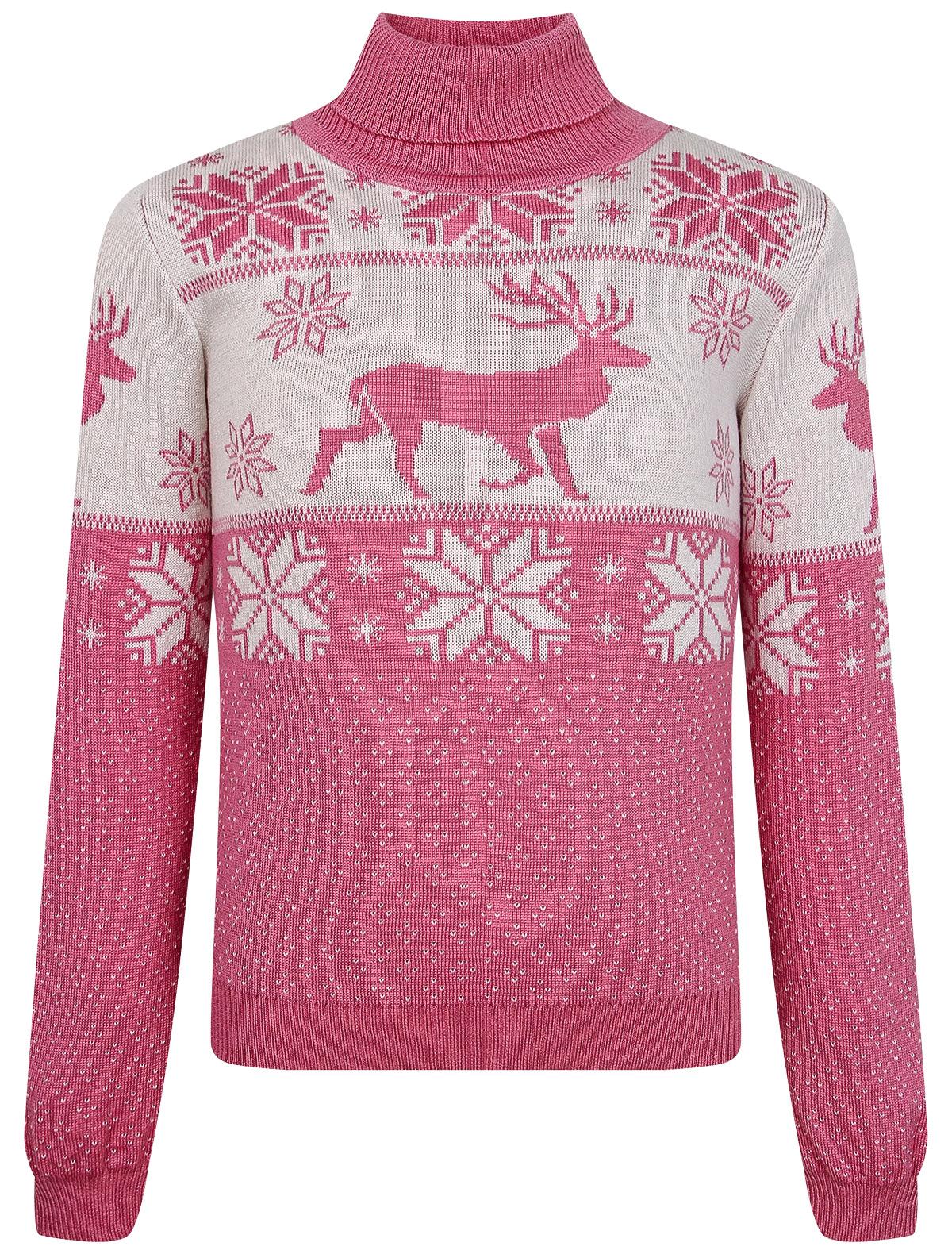 Купить 2256924, Джемпер Air wool, розовый, Женский, 1264509083776