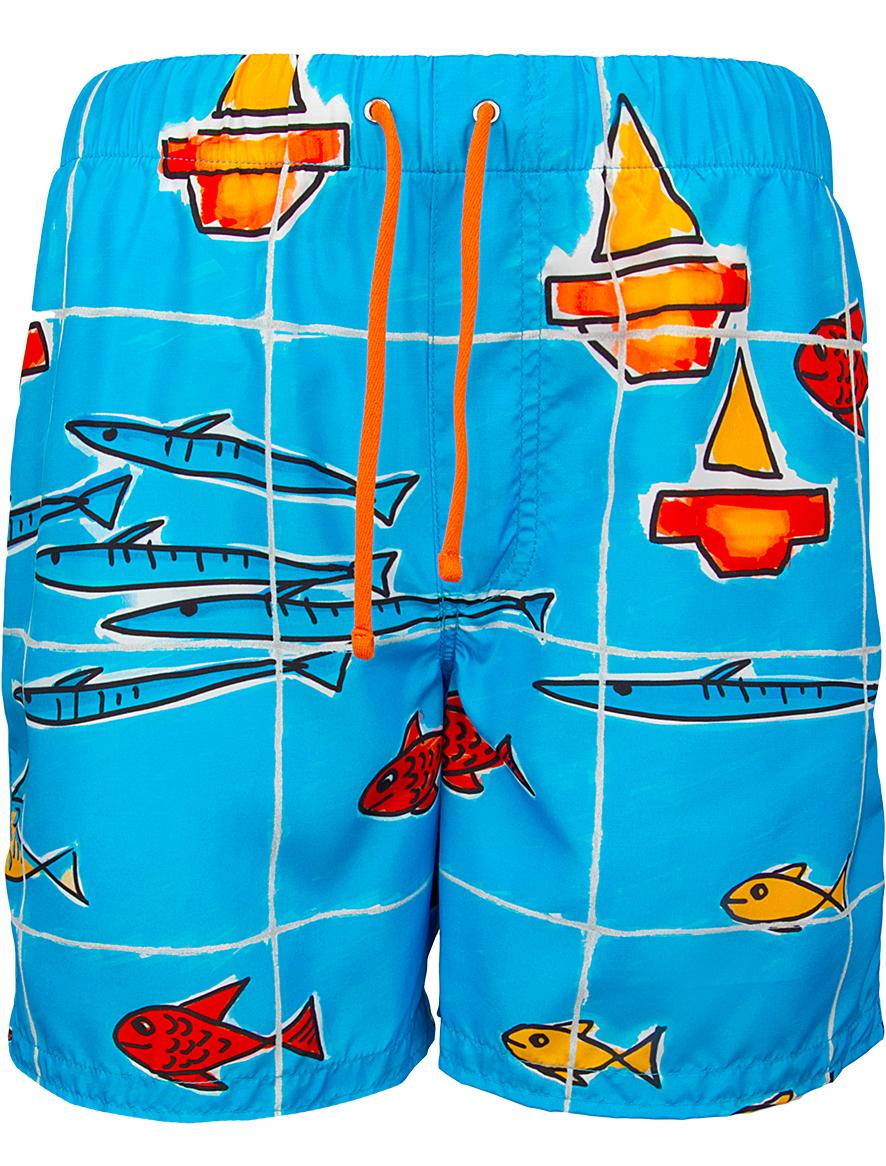 Купить 1930658, Шорты пляжные Dolce & Gabbana, синий, Мужской, 4101419670023