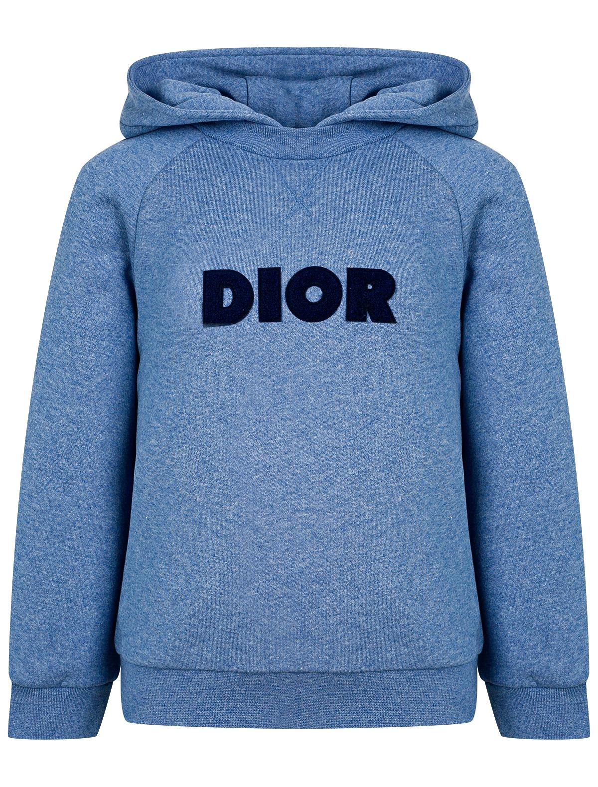 Купить 2245204, Худи Dior, синий, Мужской, 0094519082244