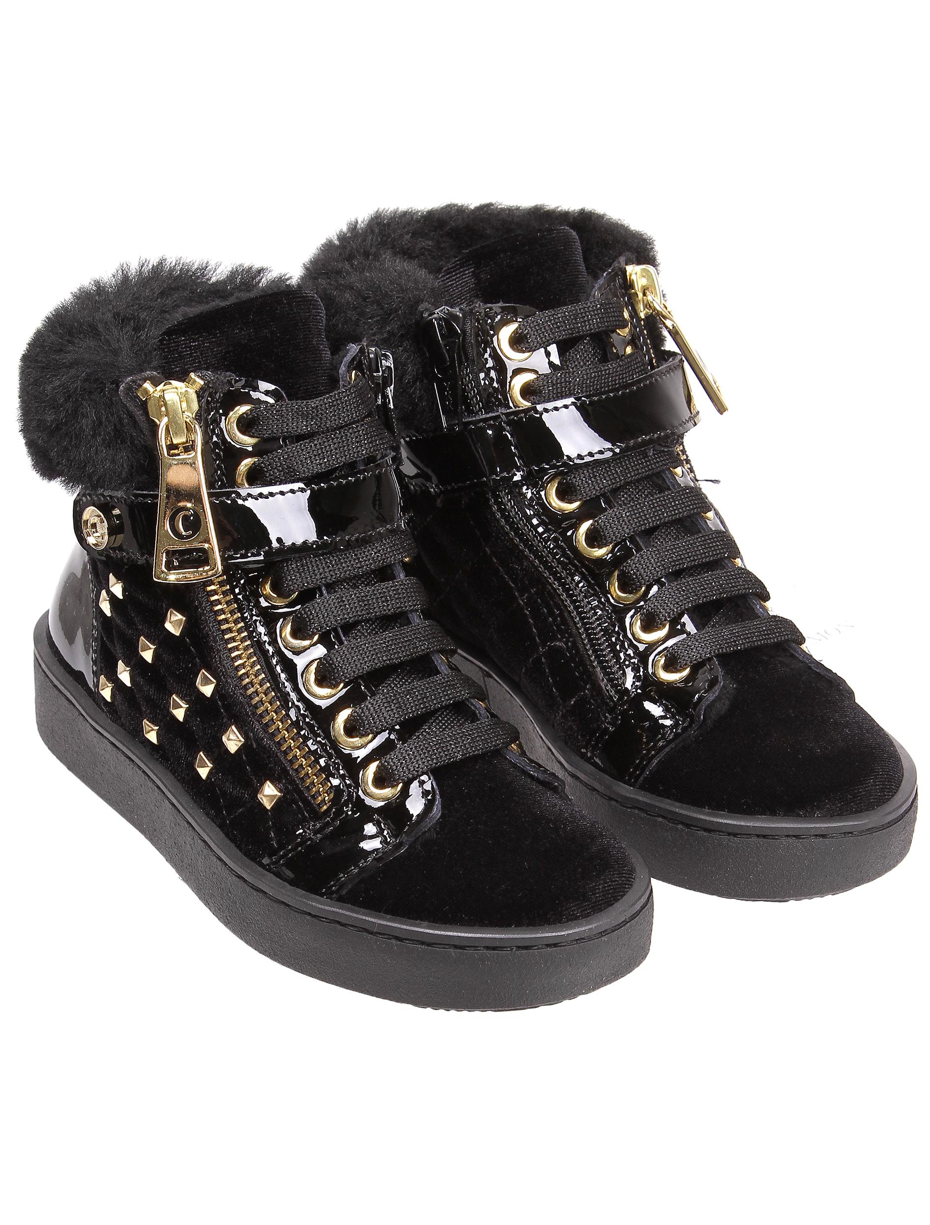 Ботинки Cherie черного цвета