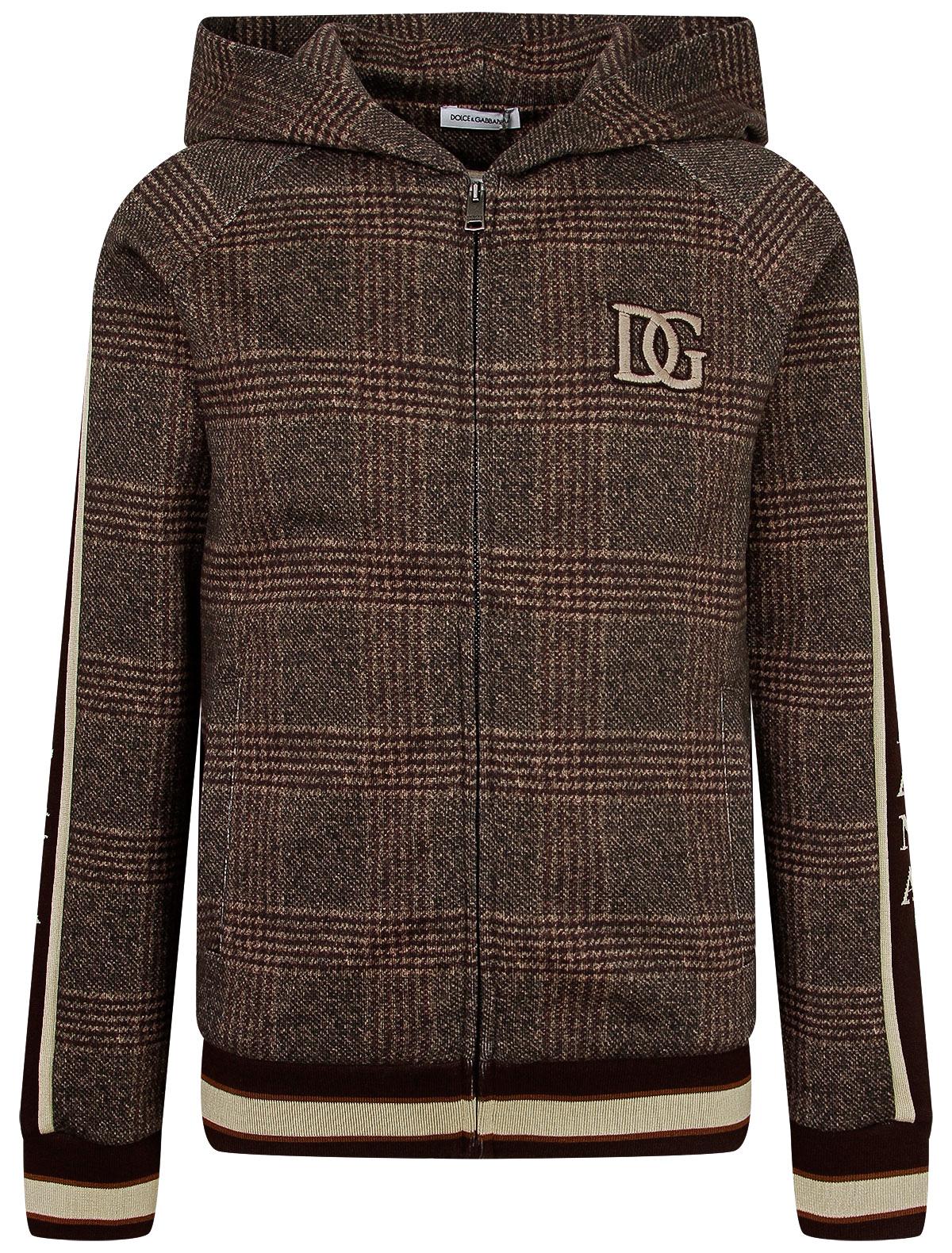 Купить 2246330, Толстовка Dolce & Gabbana, коричневый, Мужской, 0074519082277