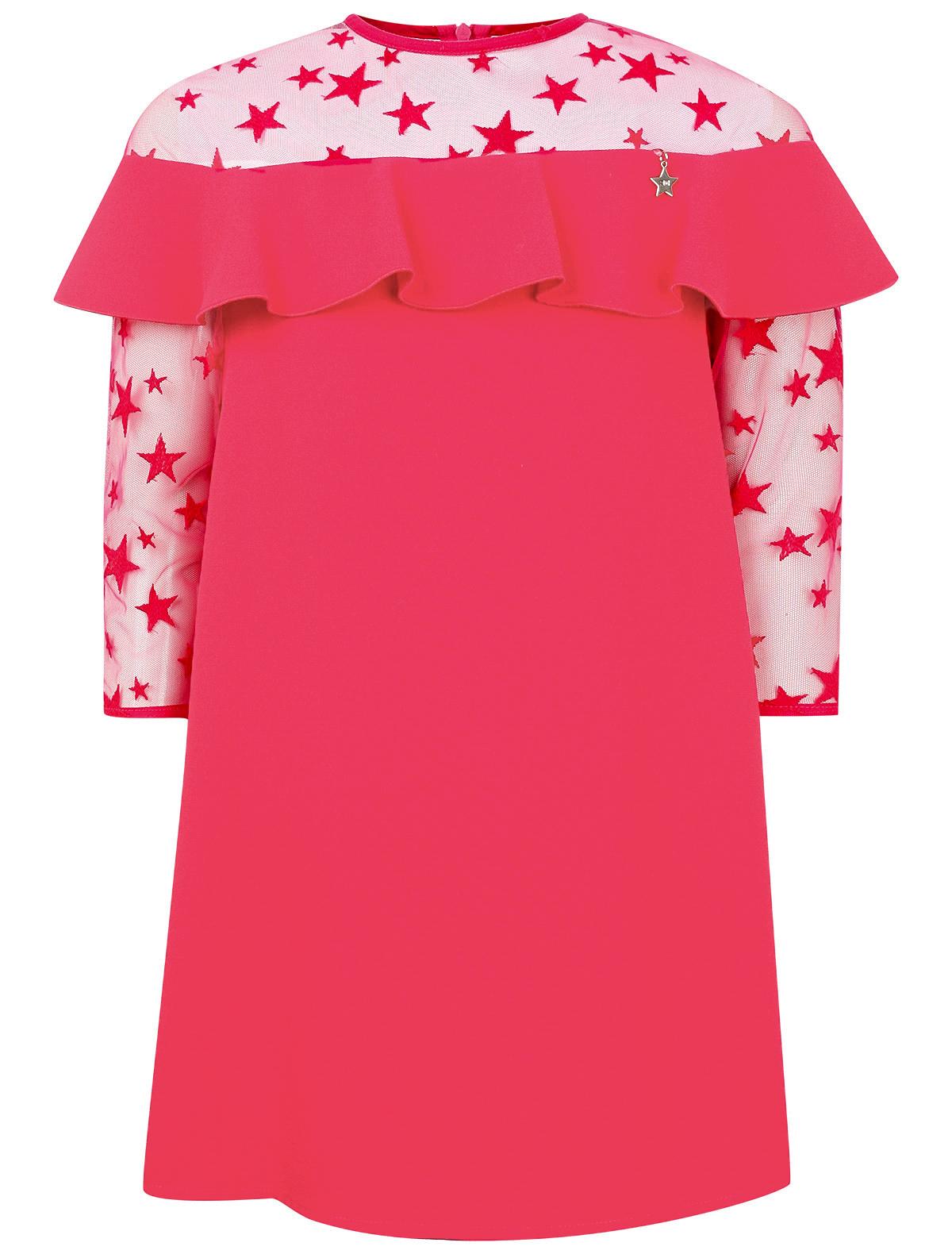 Купить 2139971, Платье ELISABETTA FRANCHI, розовый, Женский, 1052609981104