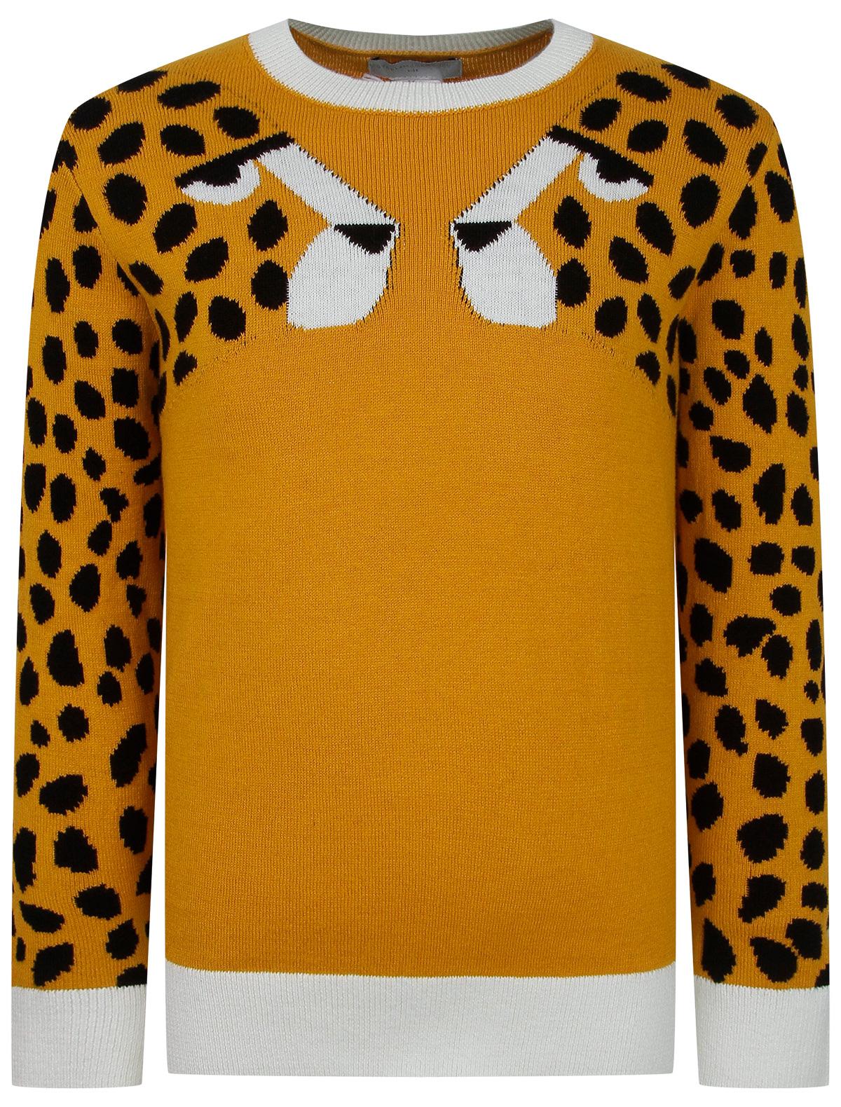 Купить 2278417, Джемпер Stella McCartney, оранжевый, Женский, 1264509170018