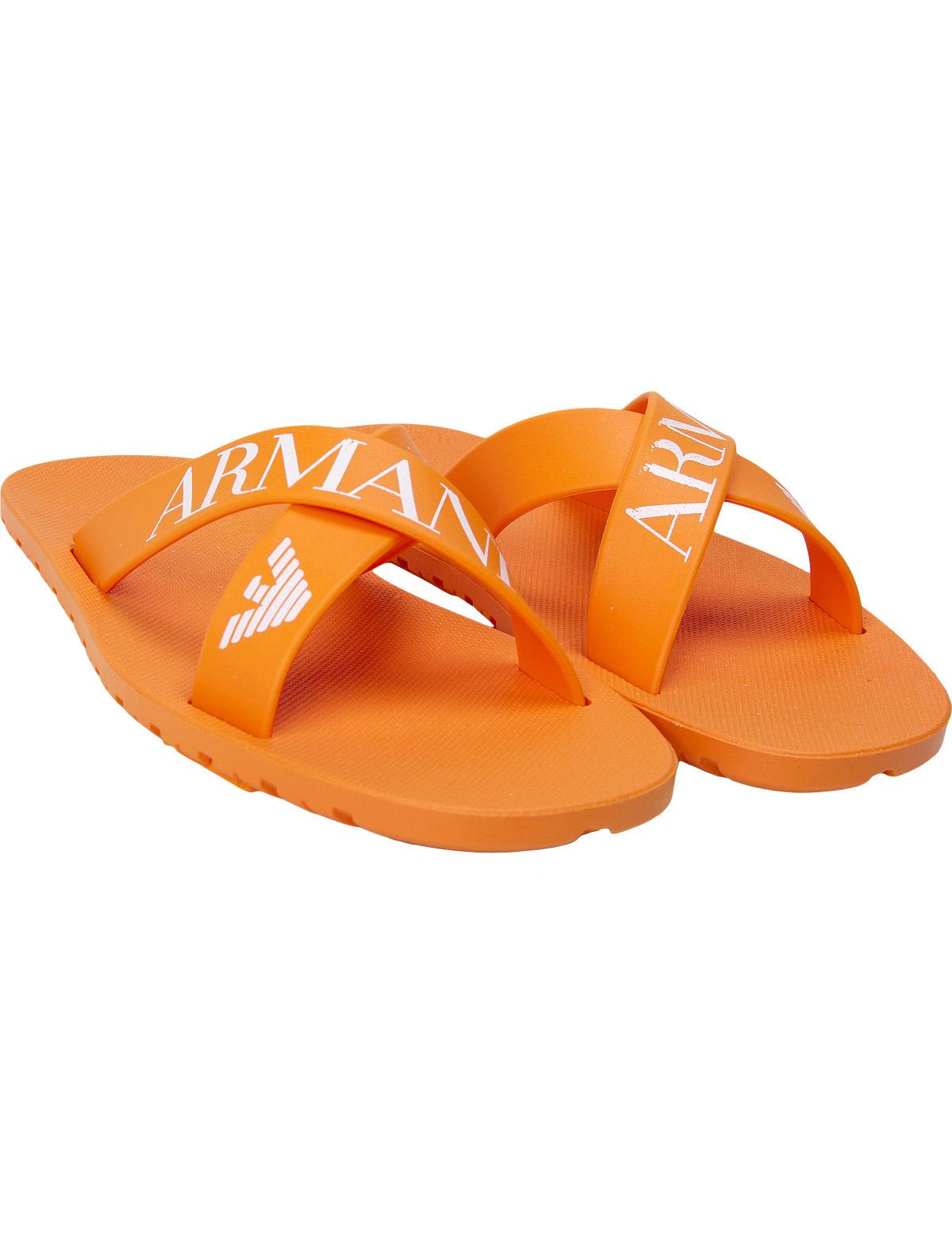 Купить 1924857, Шлепанцы пляжные Armani Junior, оранжевый, Мужской, 2282419770103
