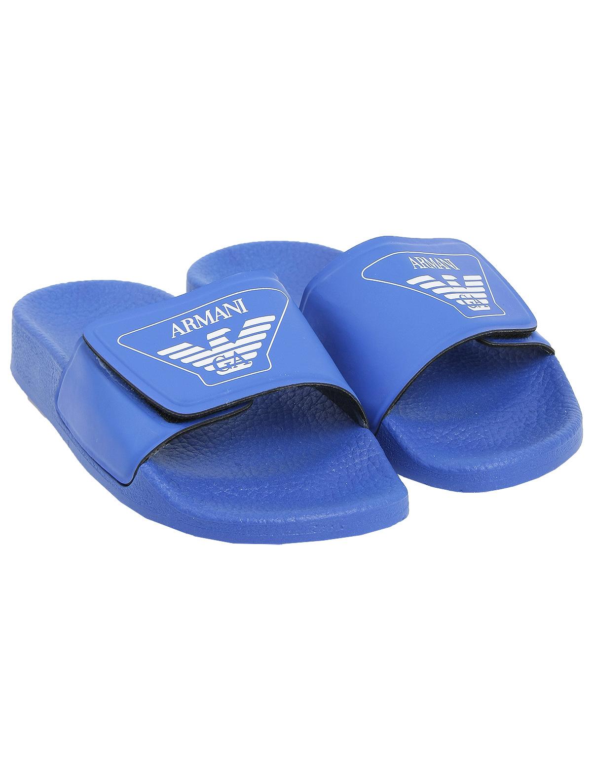 Купить 1924777, Шлепанцы пляжные Armani Junior, синий, Мужской, 2281419870103