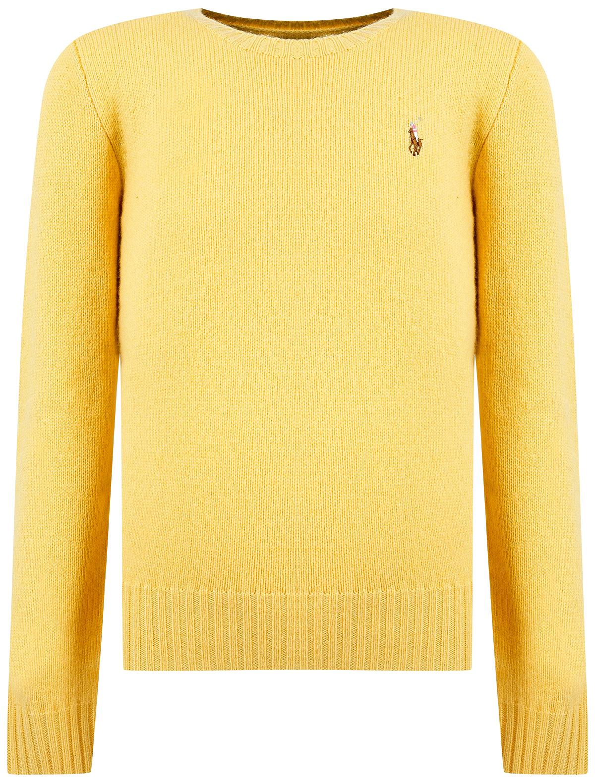 Купить 2037776, Джемпер Ralph Lauren, желтый, Женский, 1262809980702