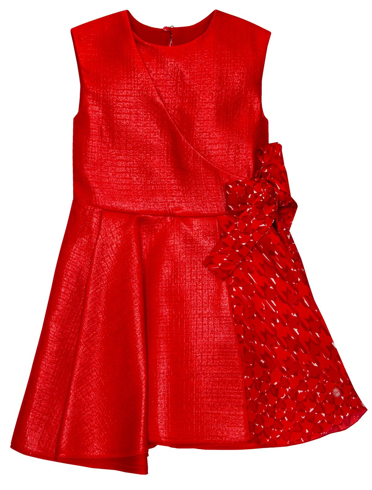 Купить 1868179, Платье Dior, красный, Женский, 1051309580020