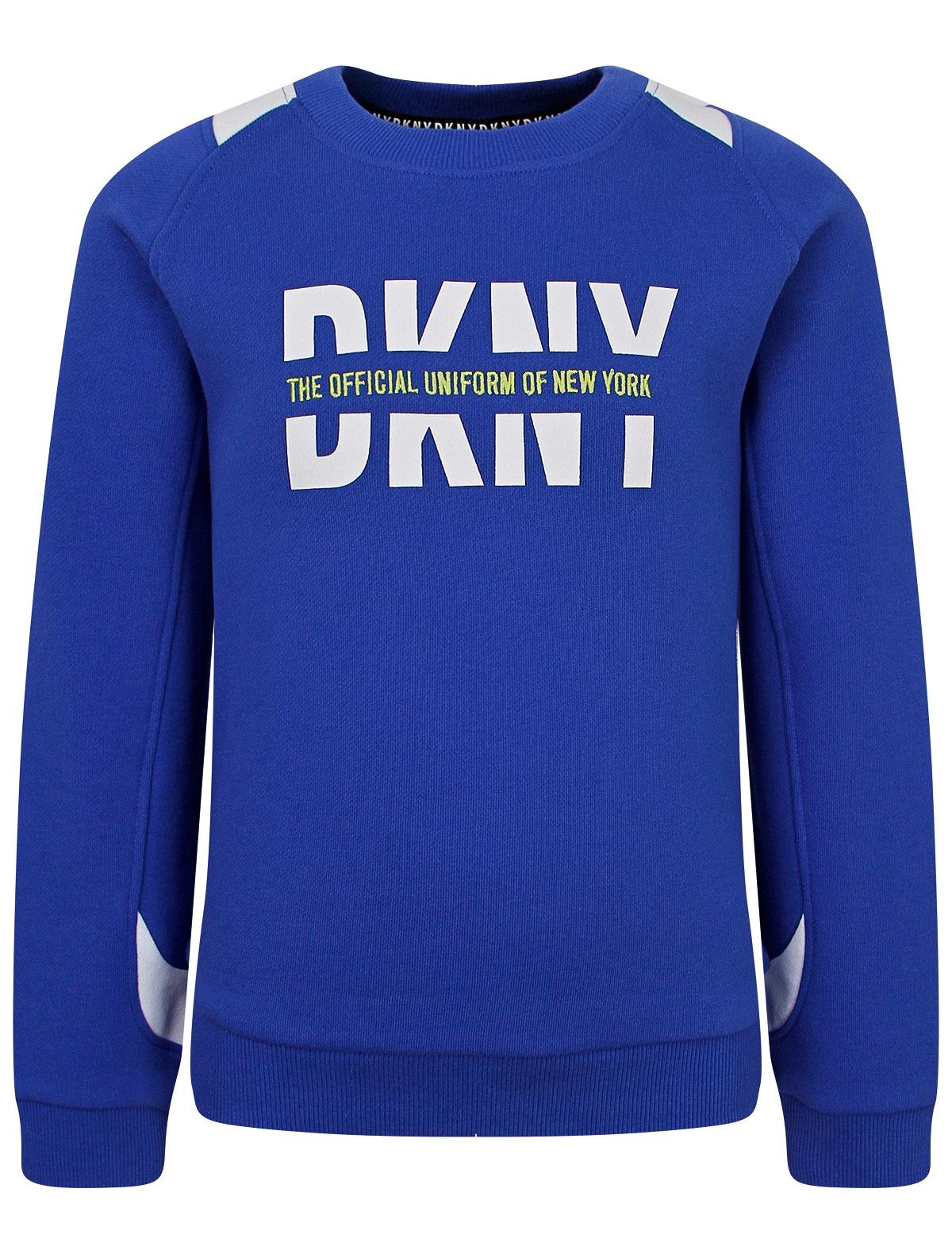 2310118, Свитшот DKNY, синий, 0084529171601  - купить со скидкой