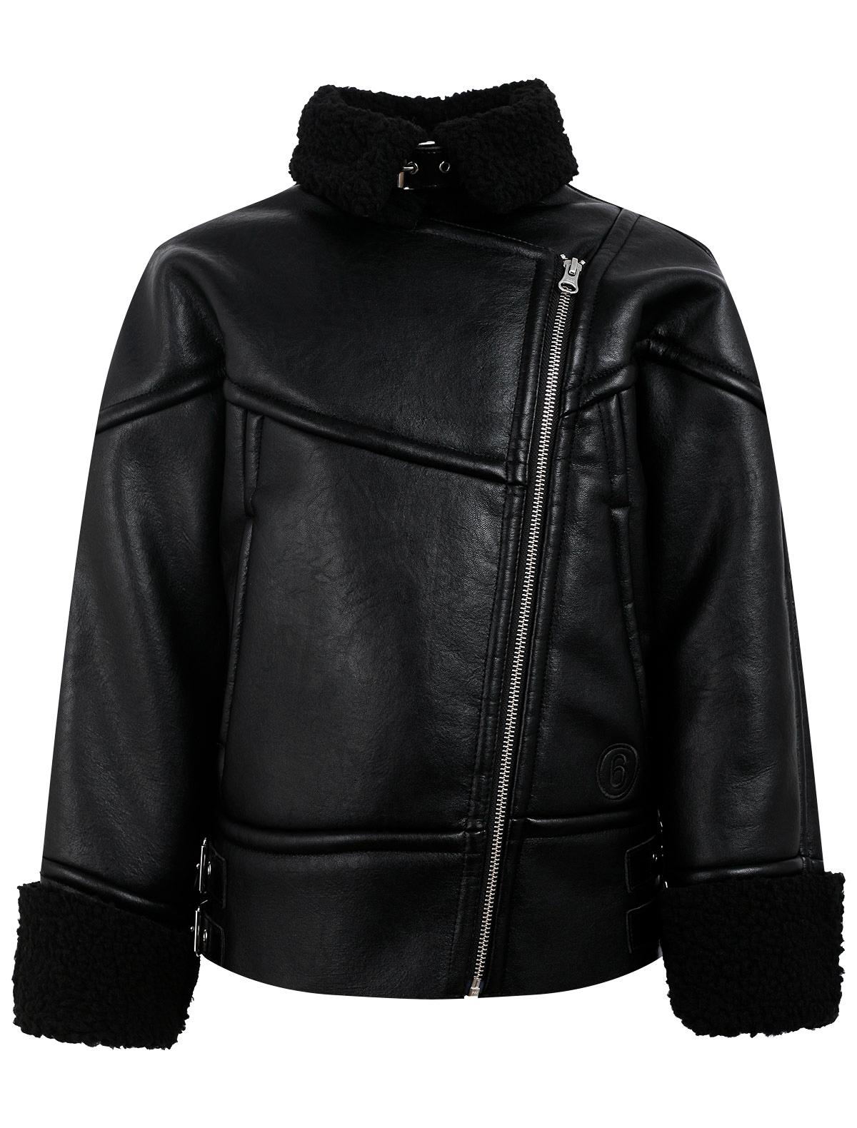 Купить 2345604, Куртка MM6 Maison Margiela, черный, 1074529181471