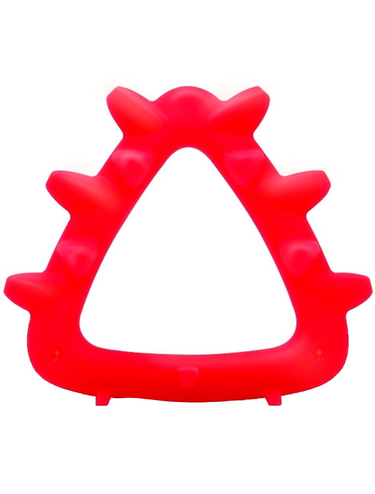Купить 2214184, Прорезыватель для зубов Mombella, красный, 5644520070096