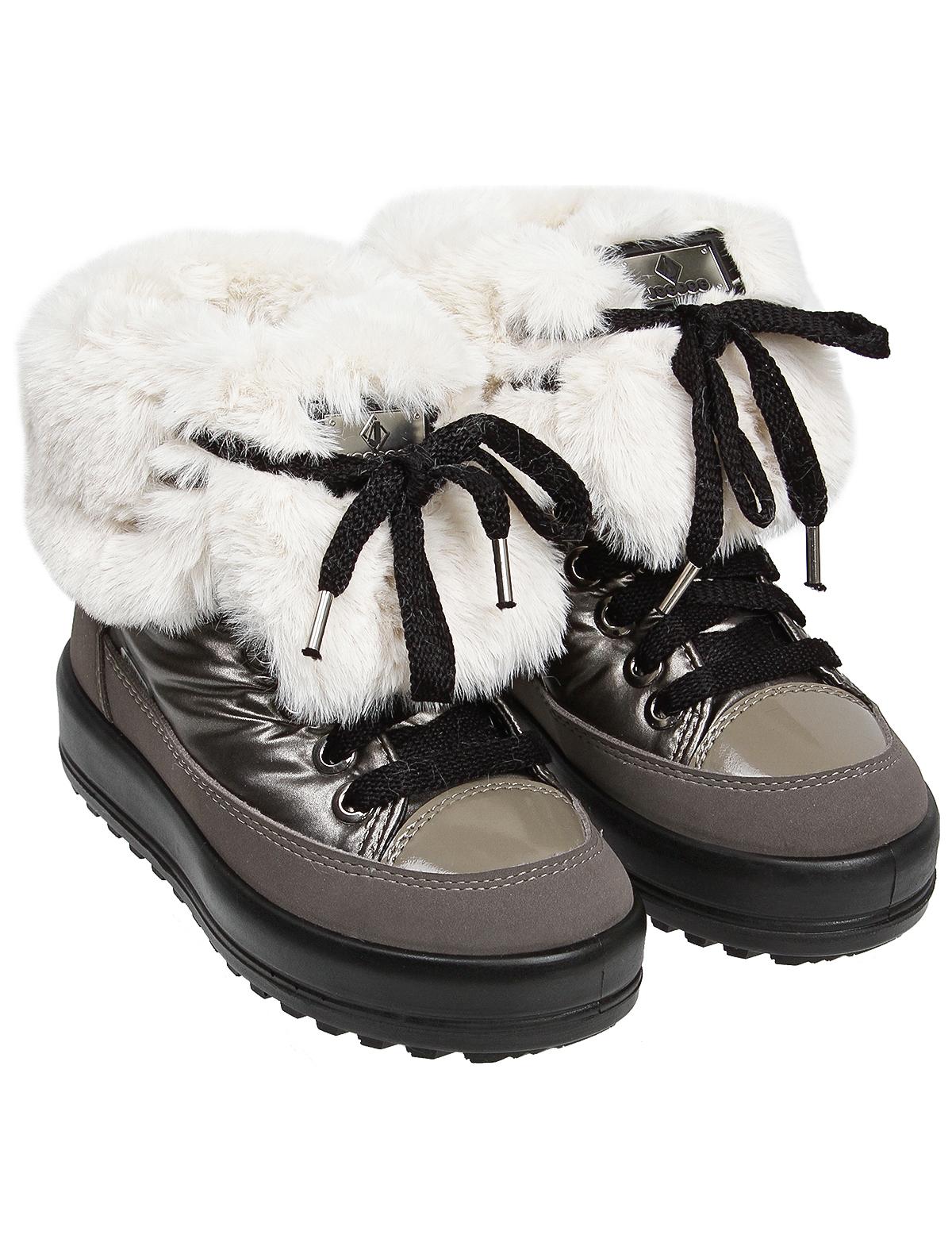 Ботинки Jog Dog серого цвета
